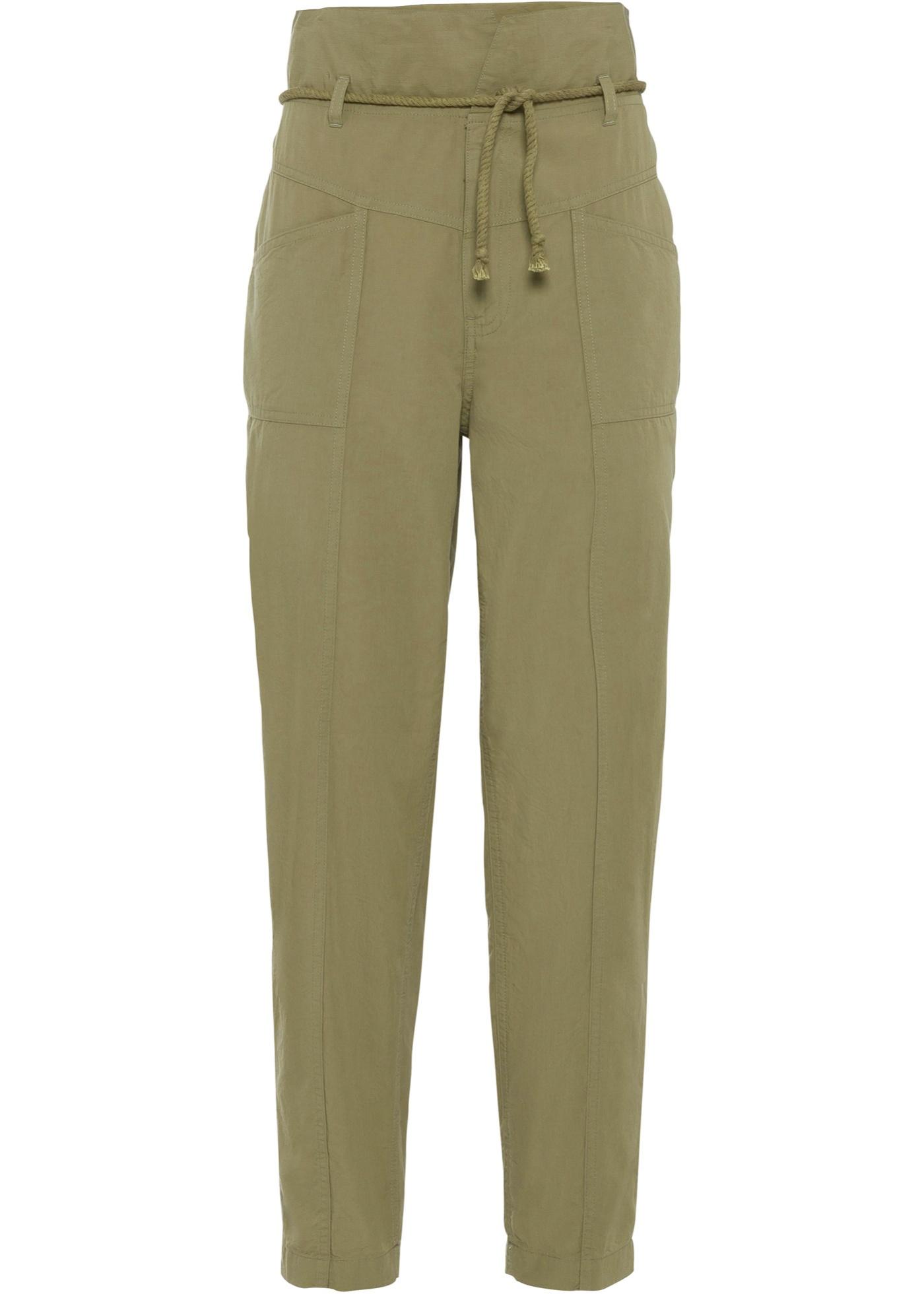Cargo-Hose in grün für Damen von bonprix