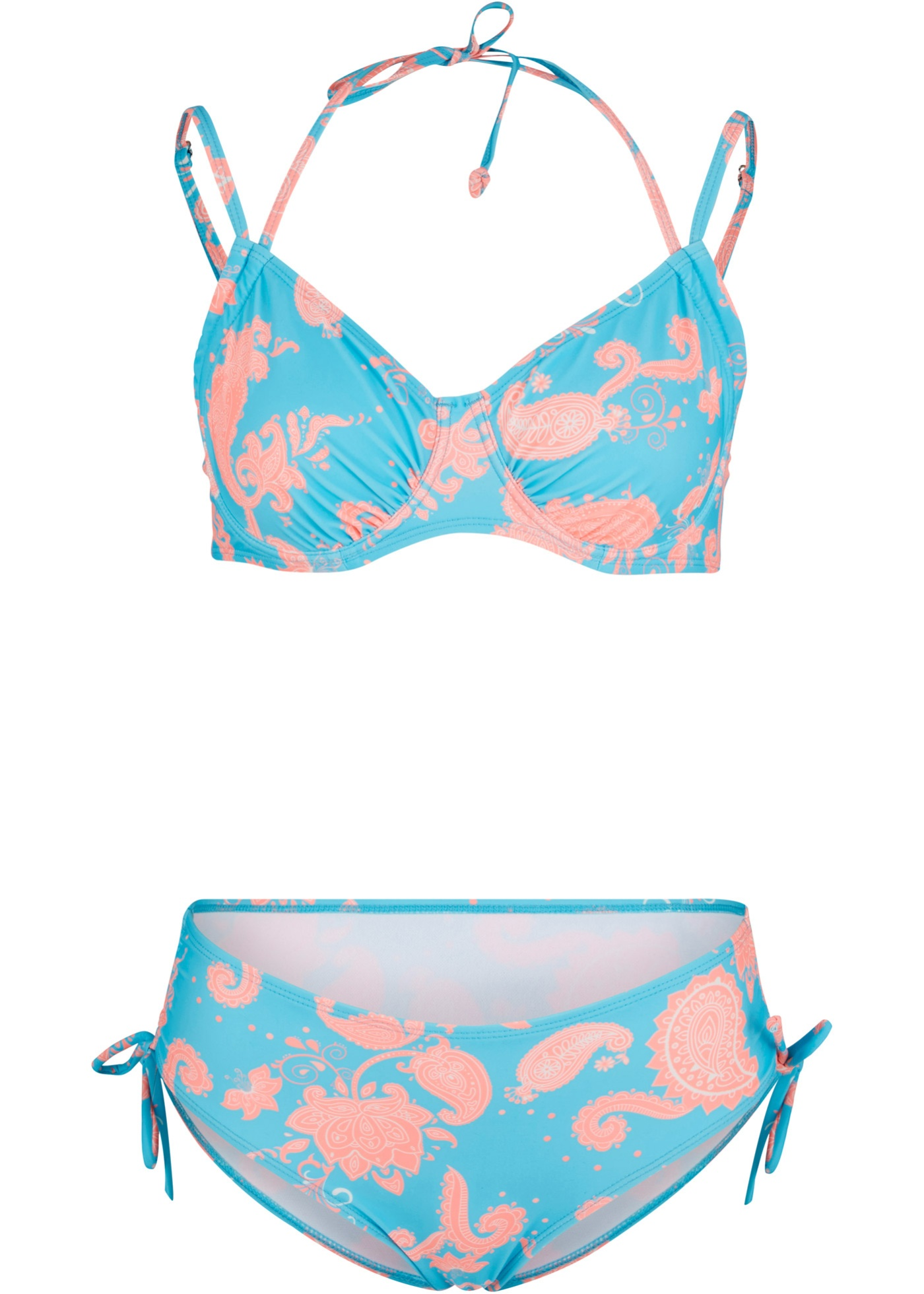 Bademode - Bügel Bikini (2 tlg.Set) › bonprix › blau  - Onlineshop Bonprix