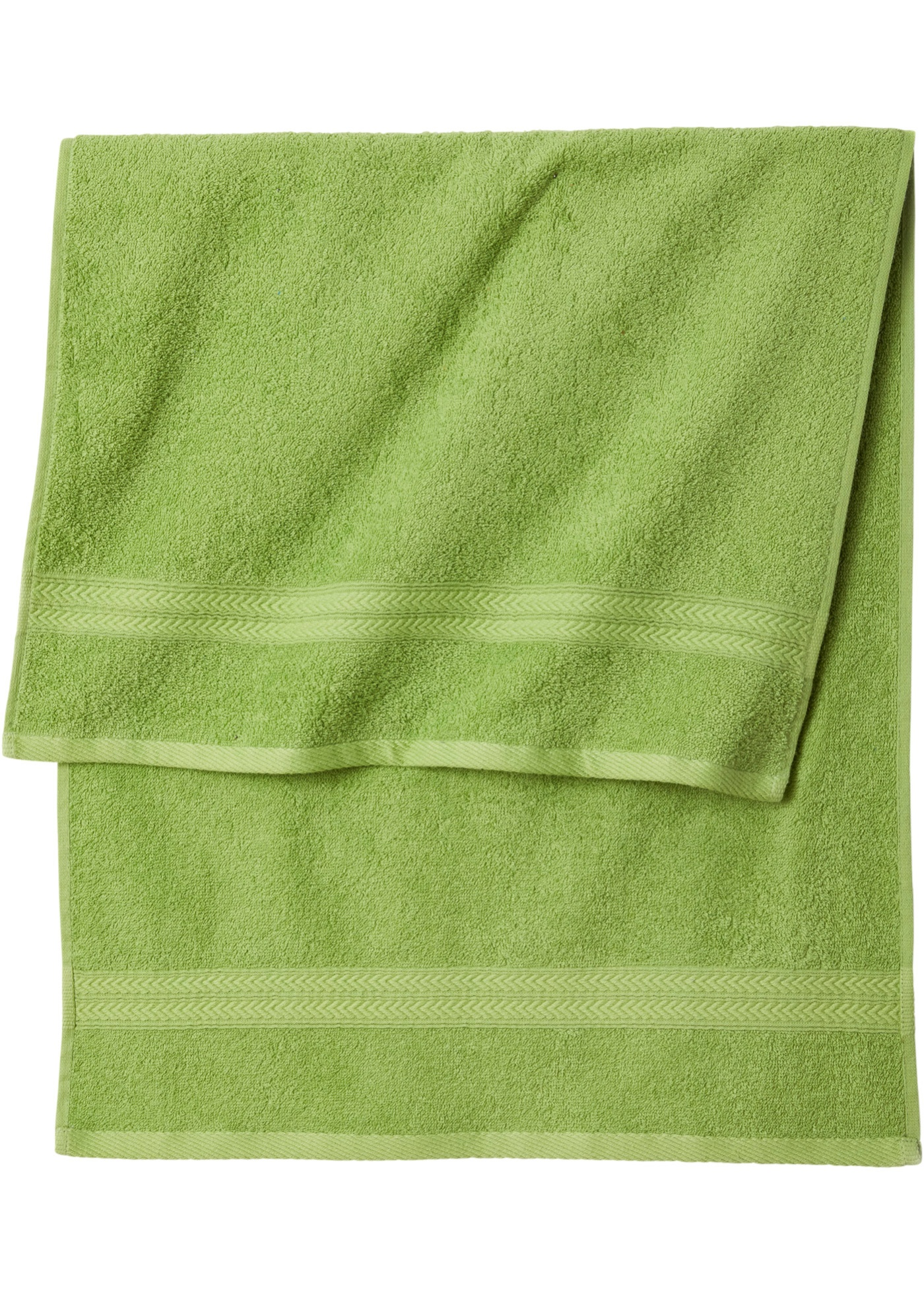 Handtuch Set (8-tlg. Set) in grün von bonprix
