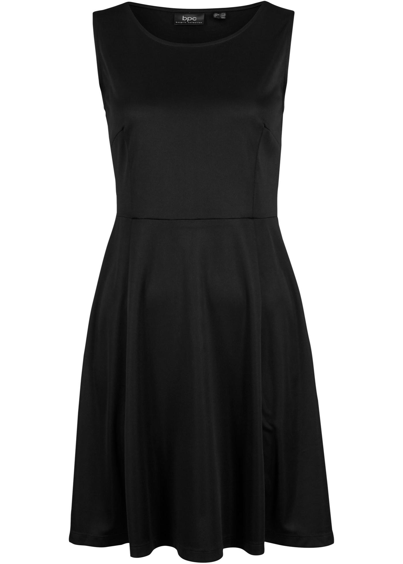 Kleid ohne Ärmel  in schwarz für Damen von bonprix