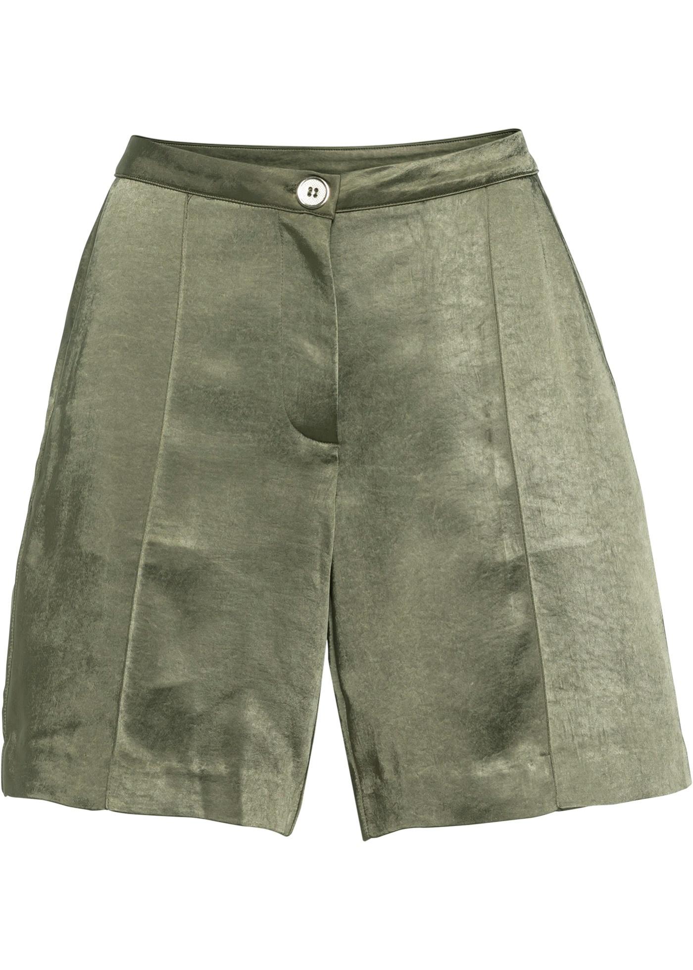 Shorts in grün für Damen von bonprix