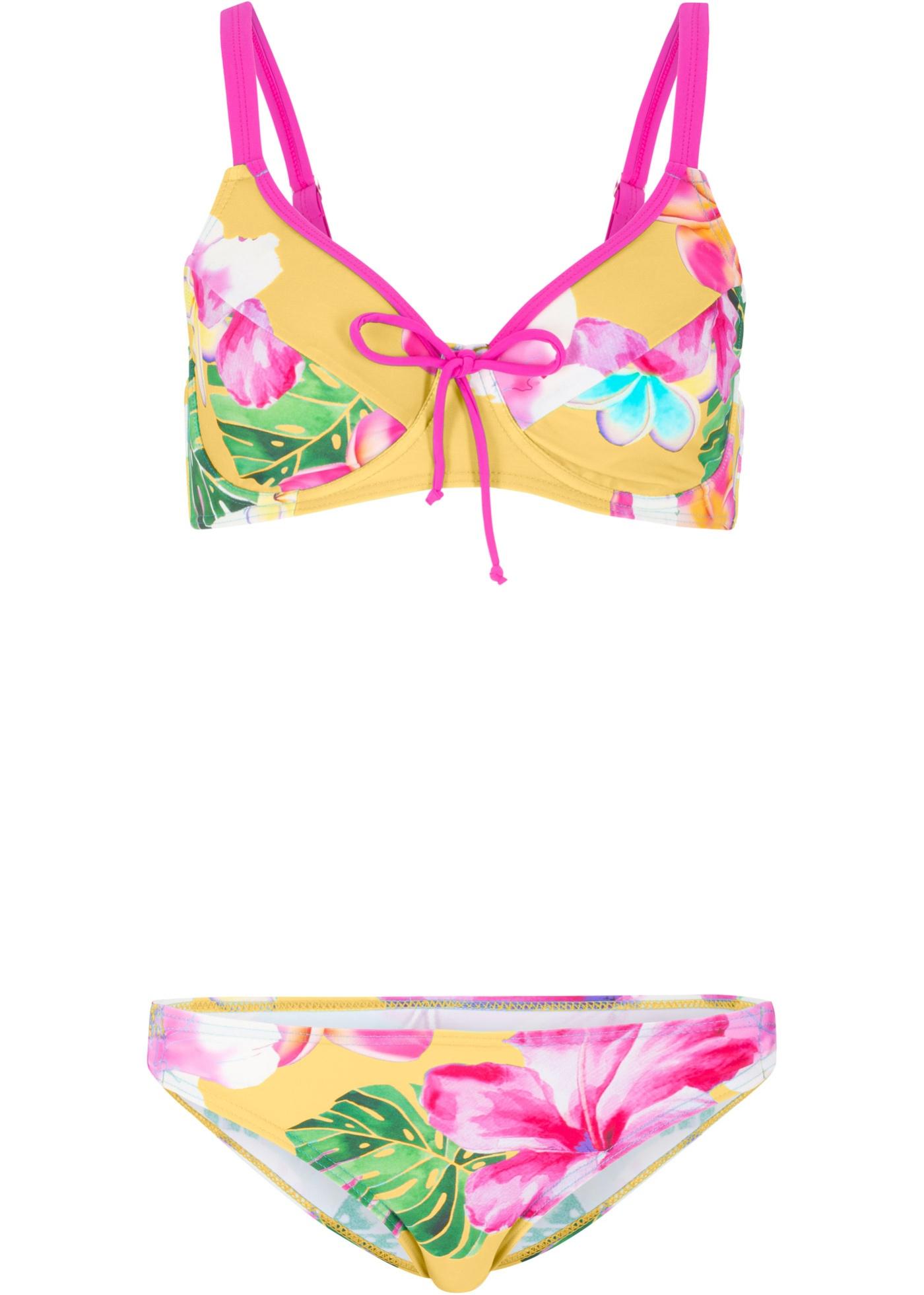 Minimizer Bügel Bikini (2-tgl. Set) in gelb für Damen von bonprix