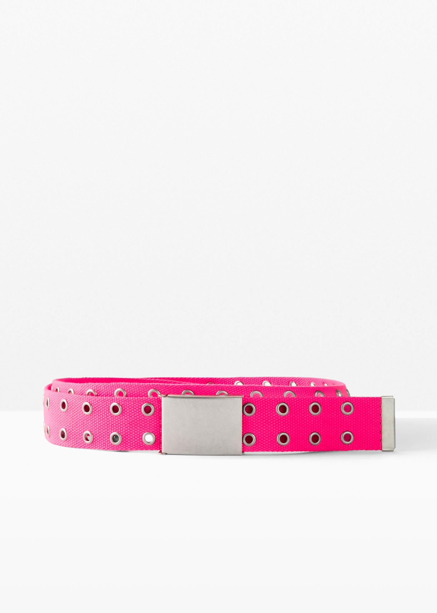 Textilgürtel in pink für Damen von bonprix