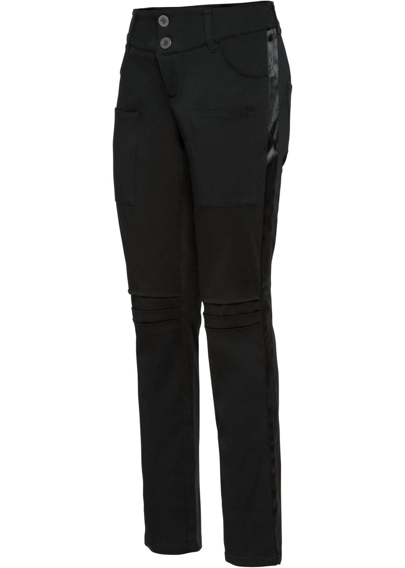 Boyfriend-Hose in schwarz für Damen von bonprix