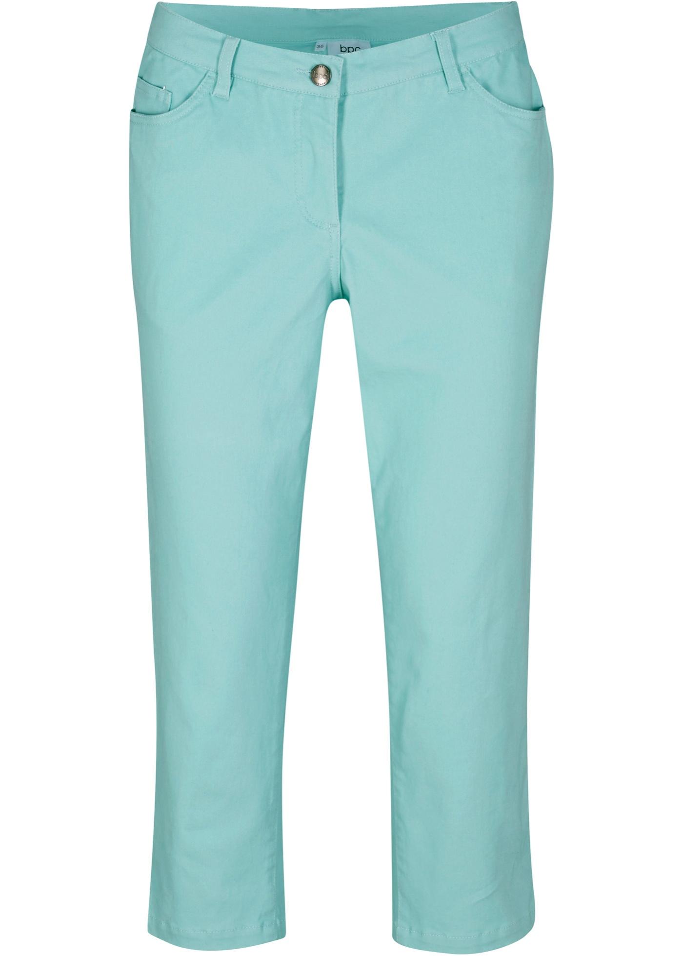 Hosen - Stretch 3 4 Hose › bonprix › blau  - Onlineshop Bonprix
