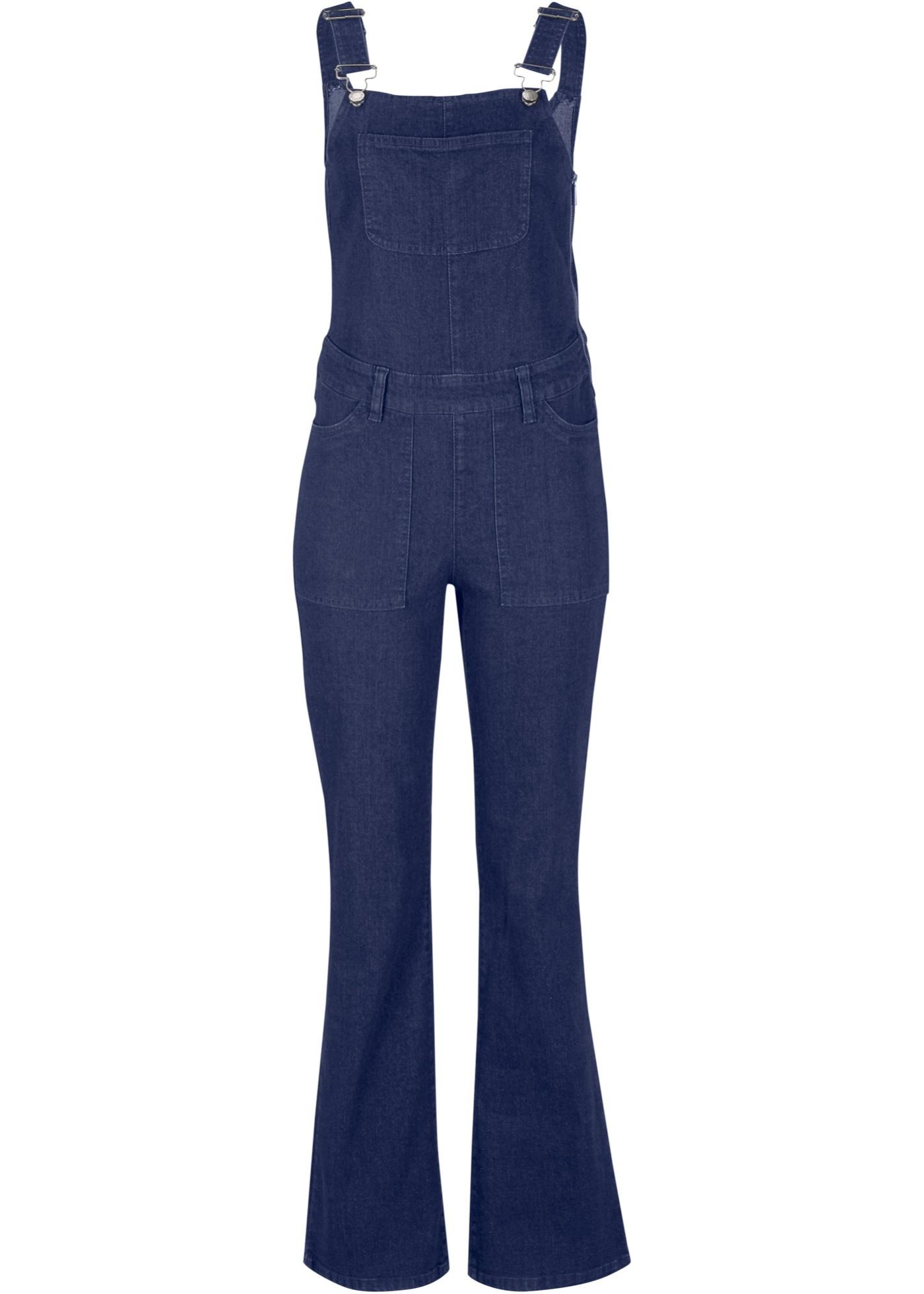 Hosen - Jeans Latzhose › bonprix › blau  - Onlineshop Bonprix
