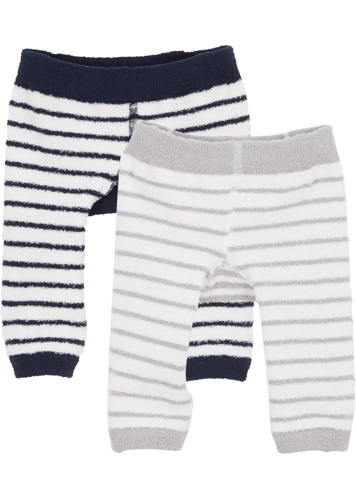 Baby Leggings flauschig (2er Pack)