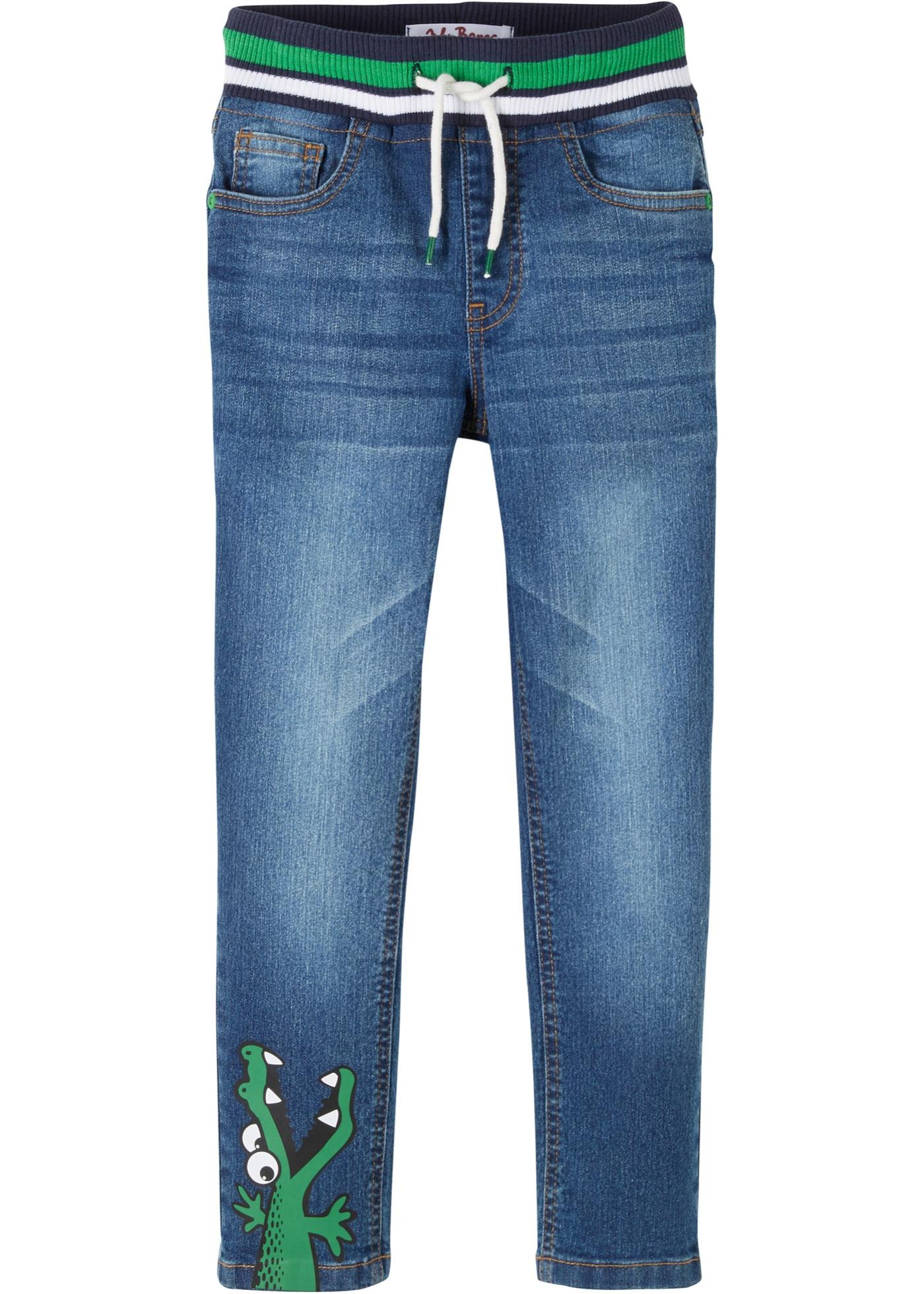 Jungen Jeans mit Dinomotiv, Regular Fit