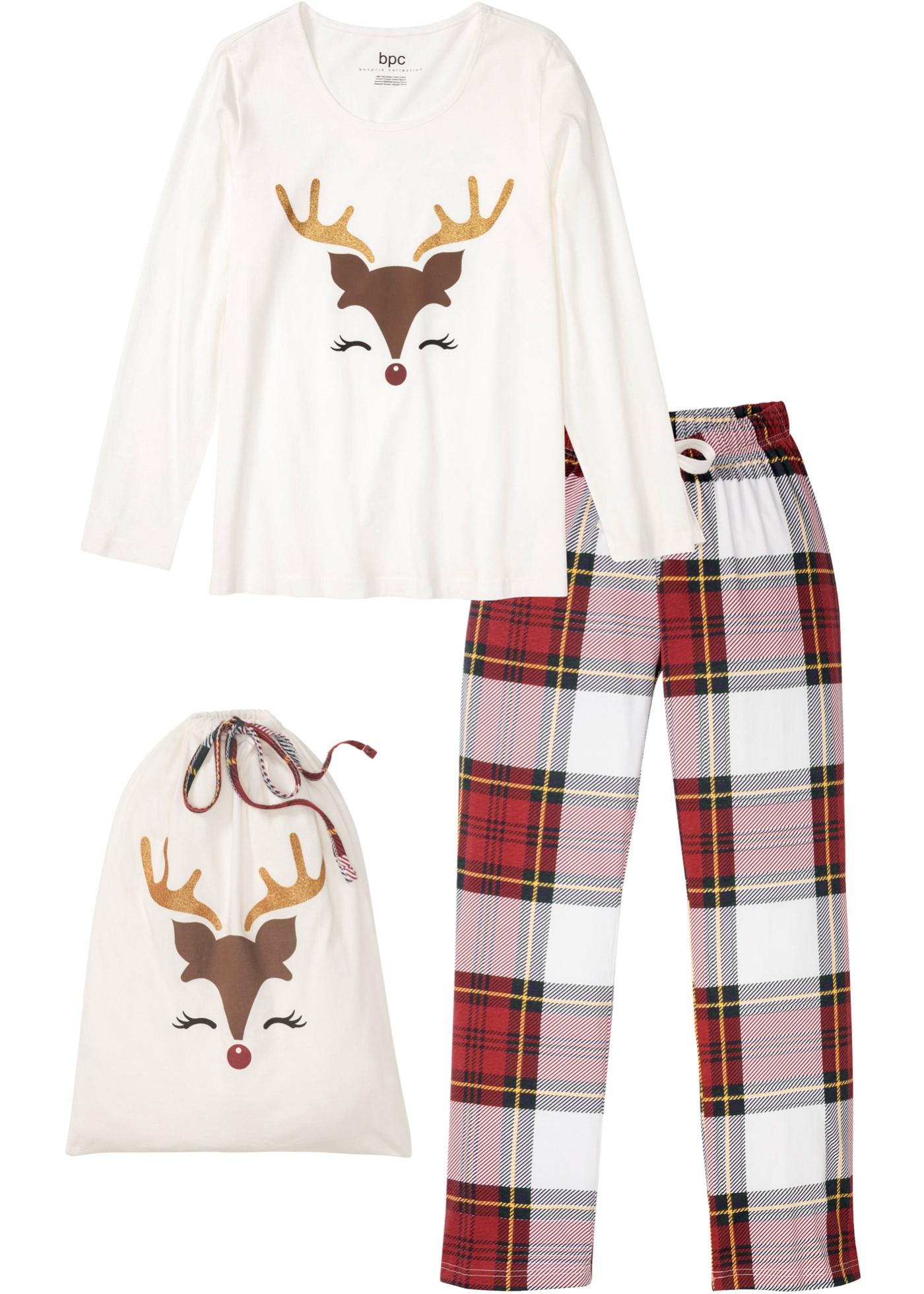 Pyjama mit Geschenktasche