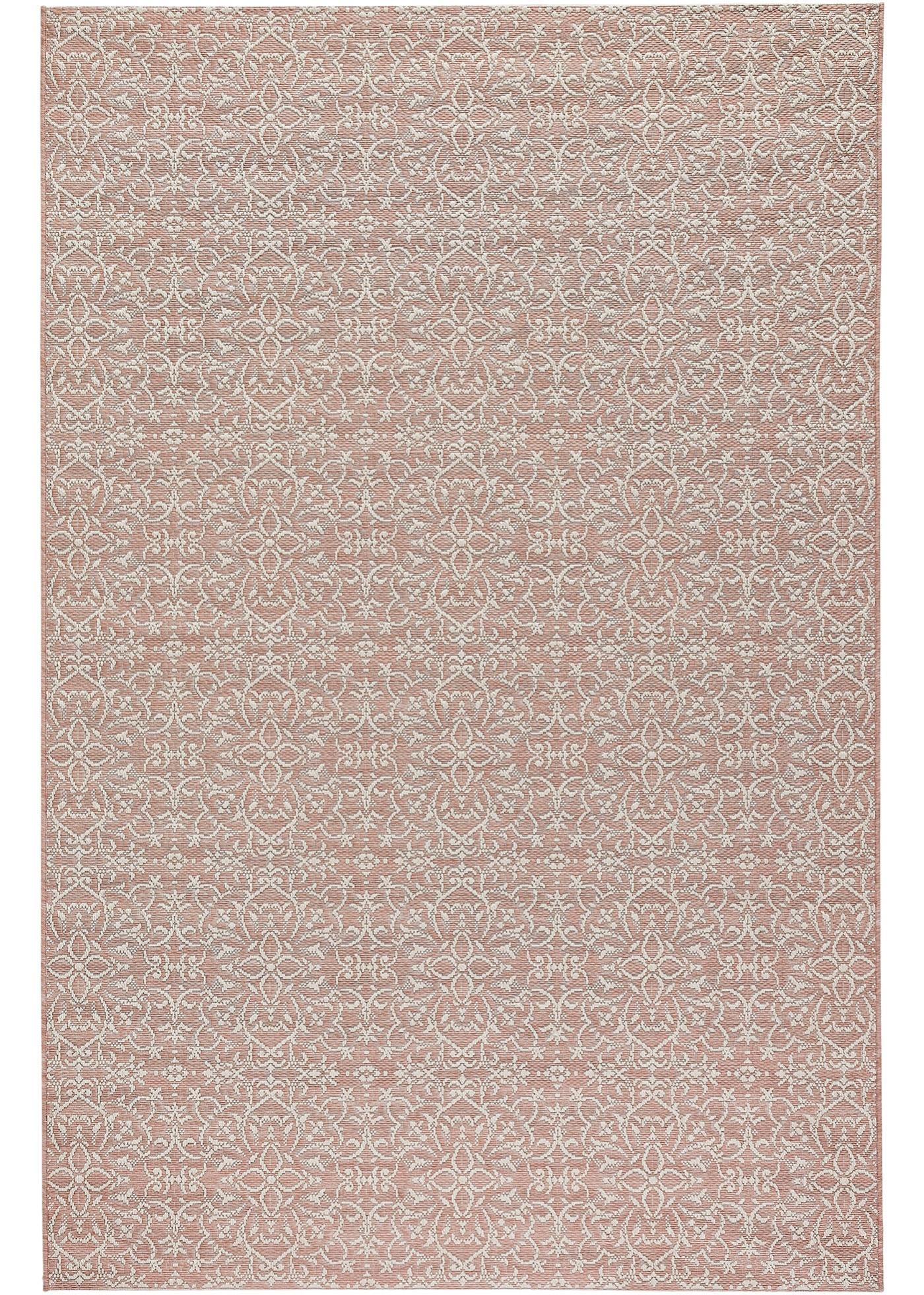 In- und Outdoor Teppich mit dezentem Muster