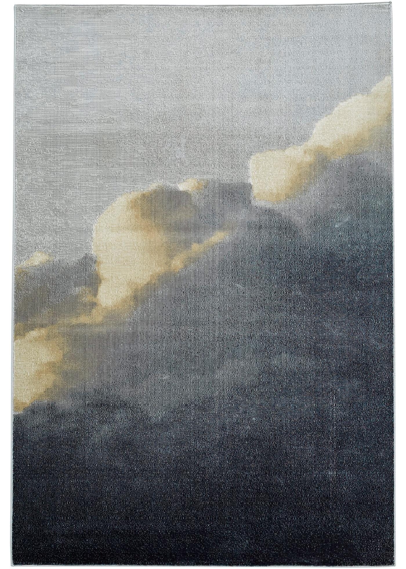 Teppich mit Wolken Musterung