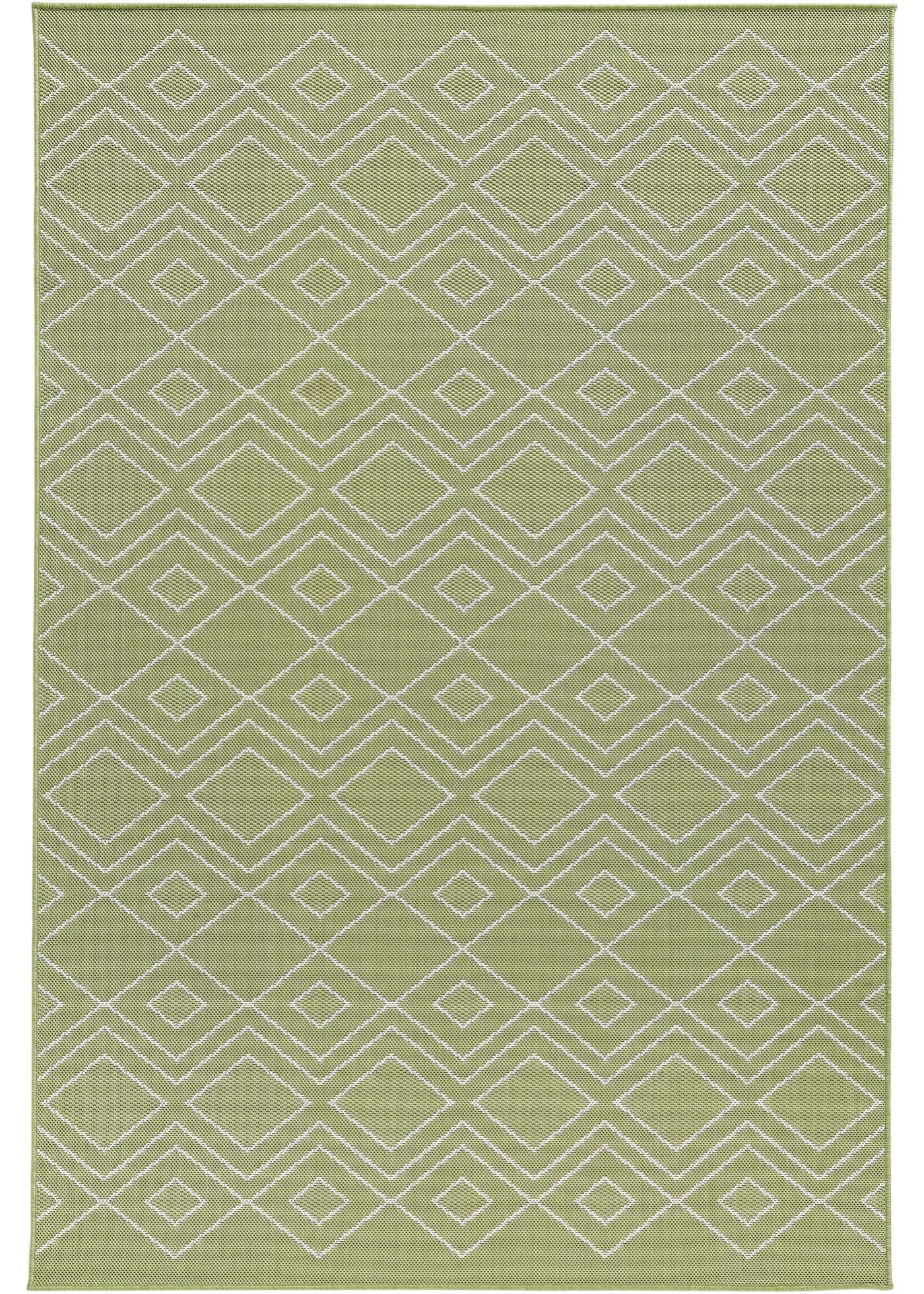 In- und Outdoor Teppich mit dezenter Musterung