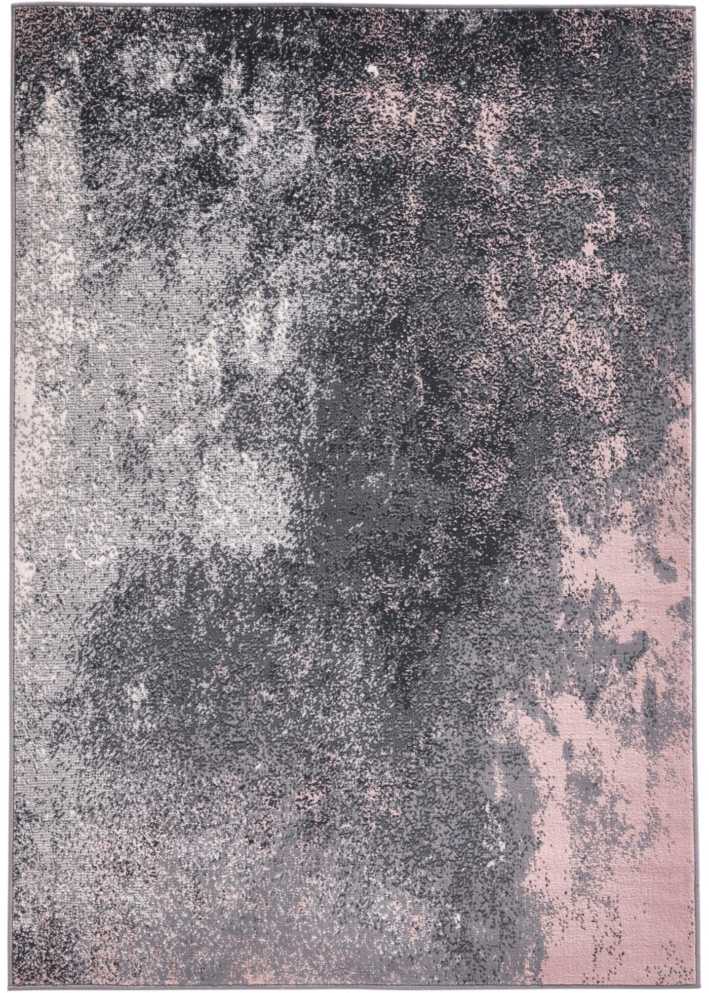 Teppich mit marmorierter Musterung