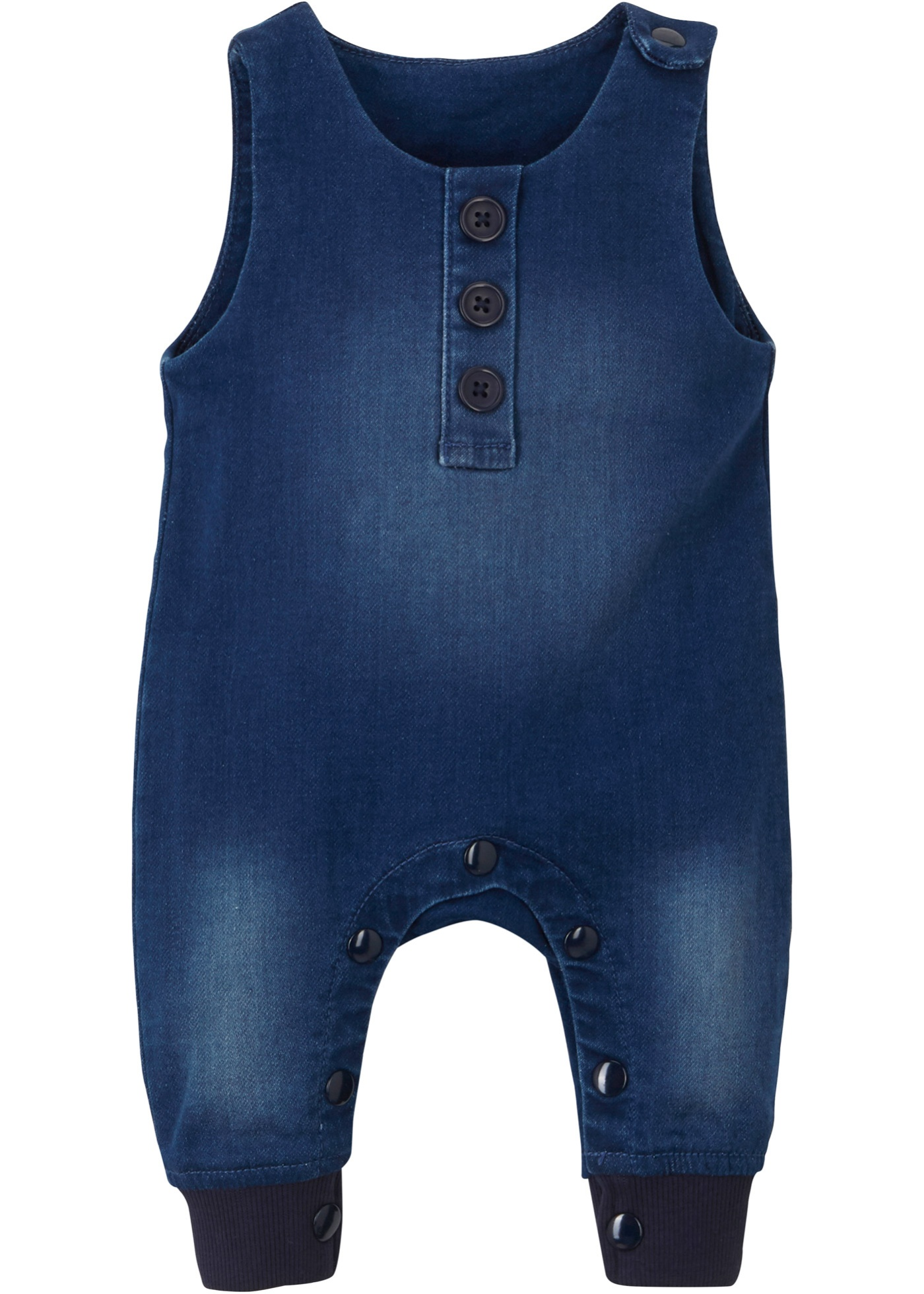 Baby Sweat-Overall in Jeansoptik