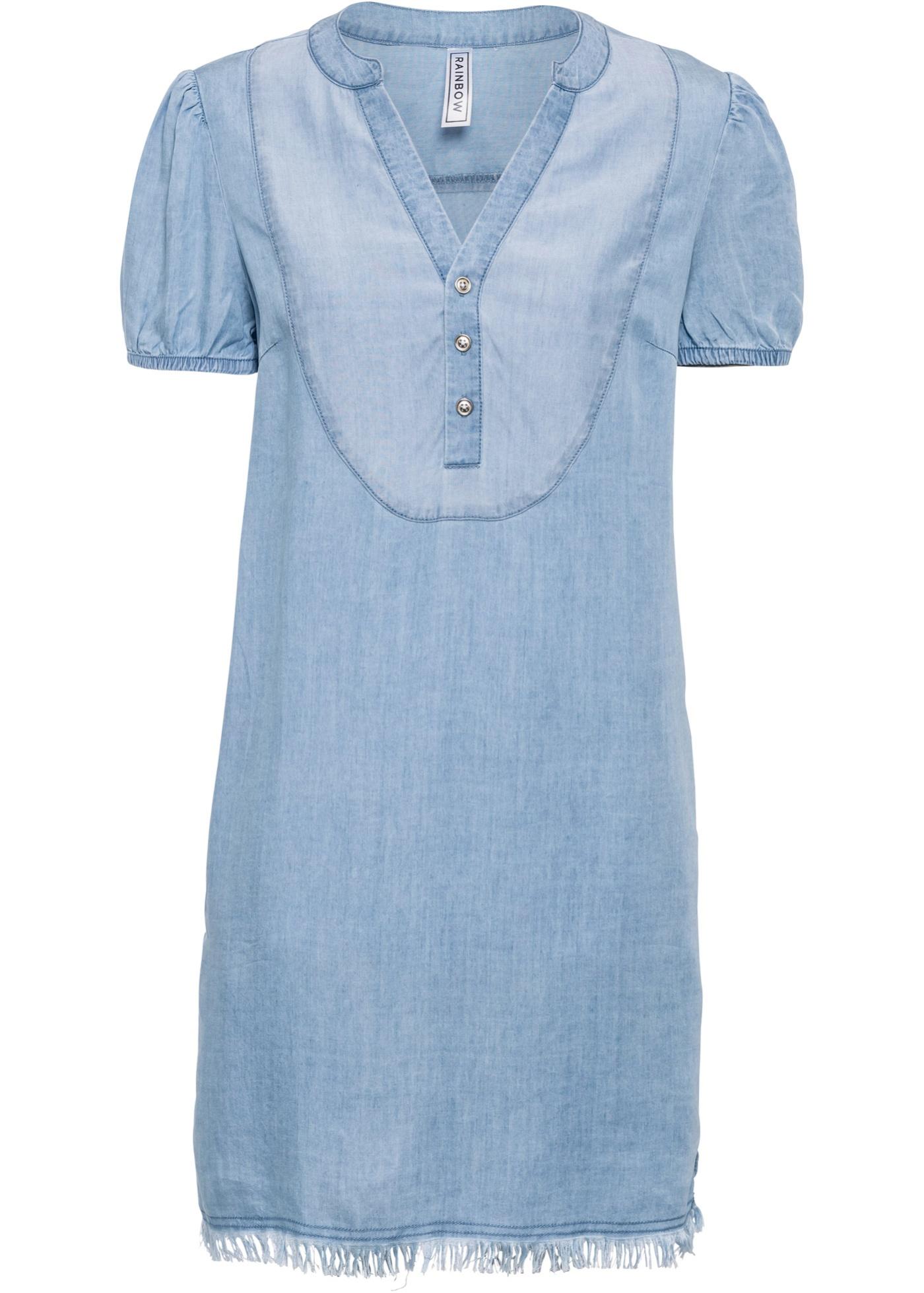 Oversize- Jeanskleid aus TENCEL™ Lyocell