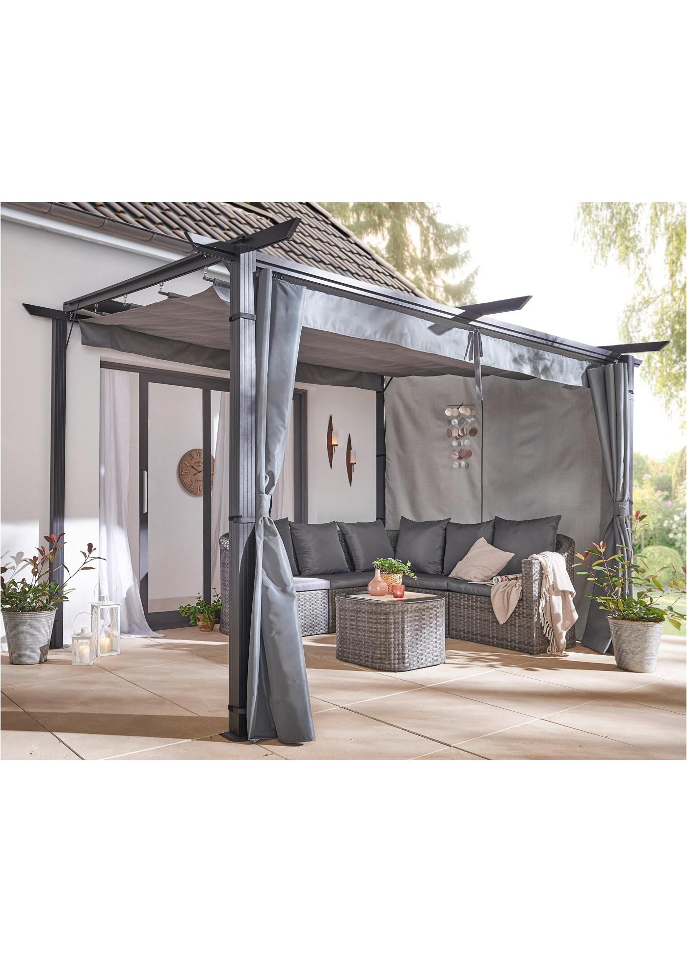 Pavillon open air zur Wandbefestigung