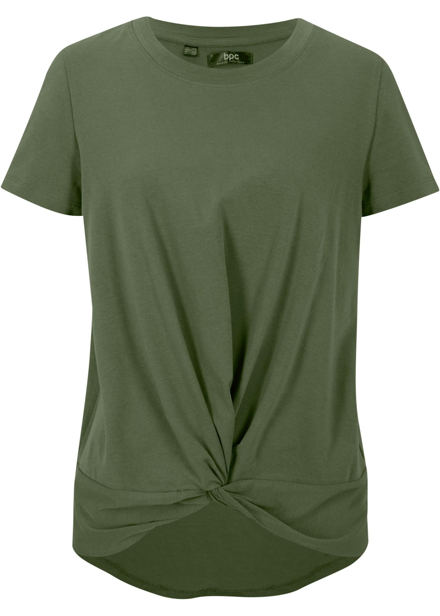 Vokuhila-Shirt aus Bio-Baumwolle