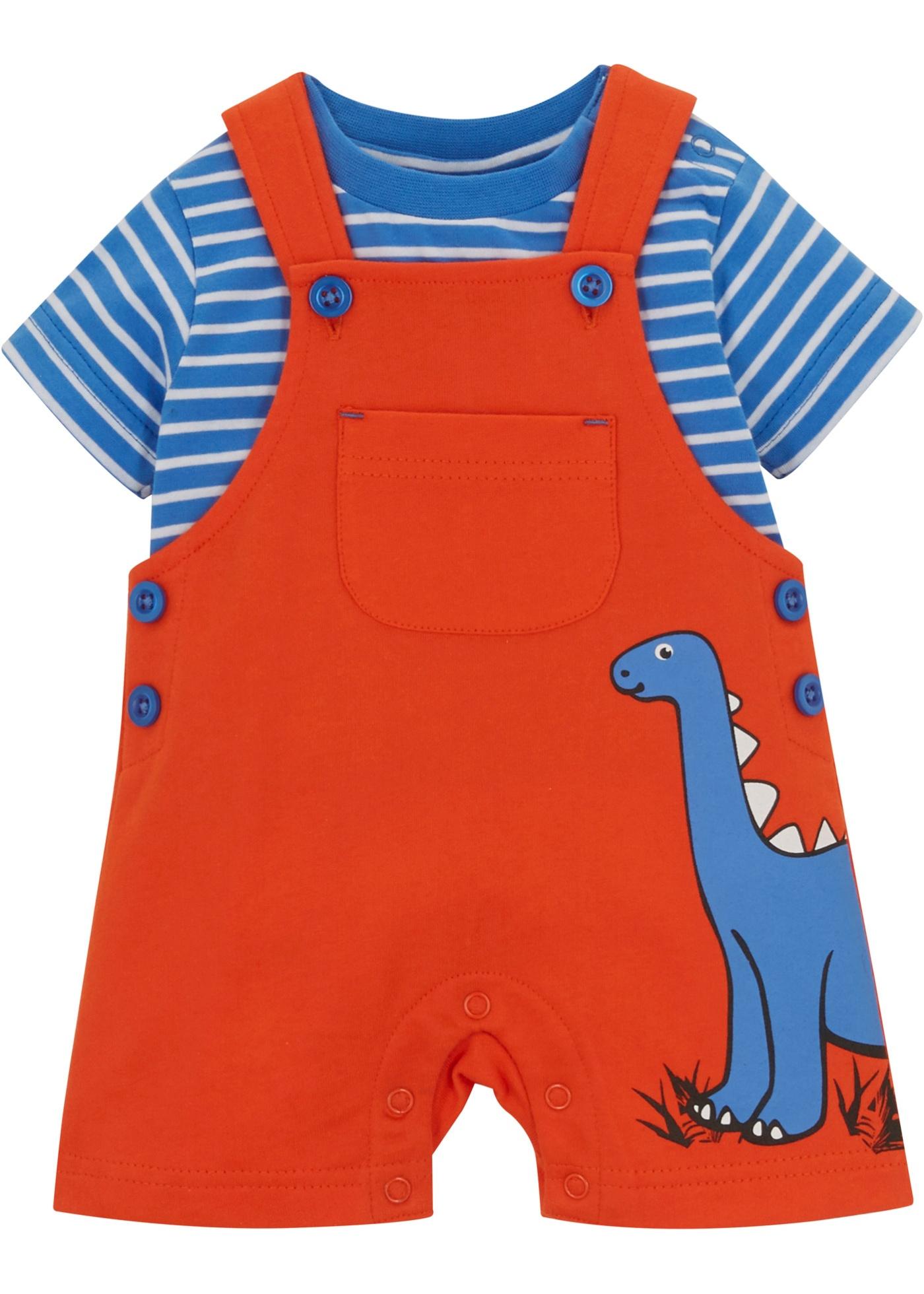 Baby T-Shirt + Sweatlatzhose (2-tlg.Set) Bio Baumwolle