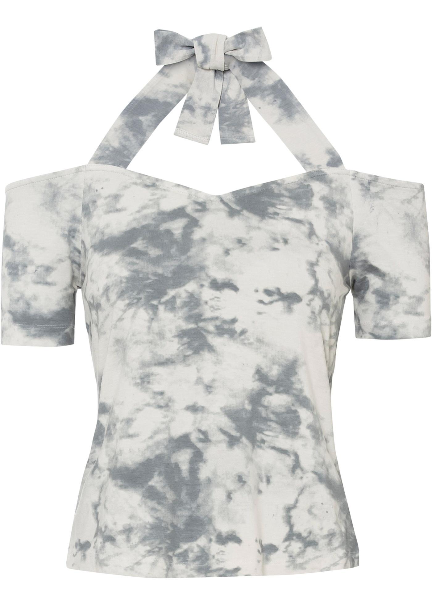 Cold-Shoulder-Shirt, Batik