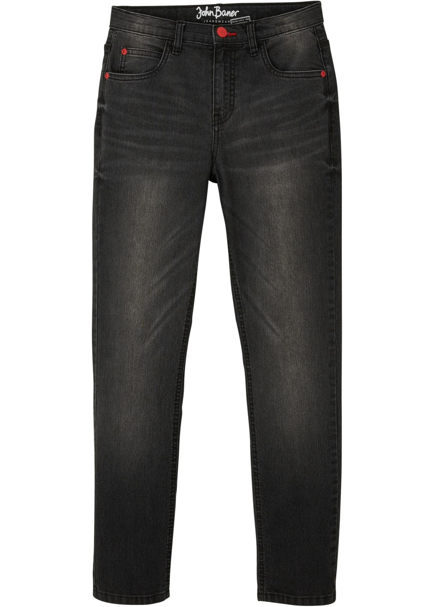 Jungen Jeans mit cooler Waschung, Slim Fit