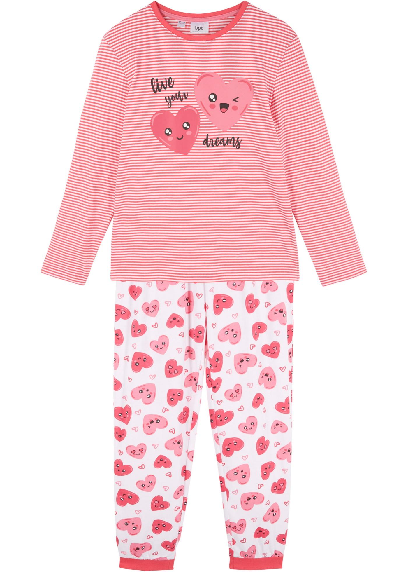 Mädchen Pyjama (2tlg. Set) aus Bio-Baumwolle