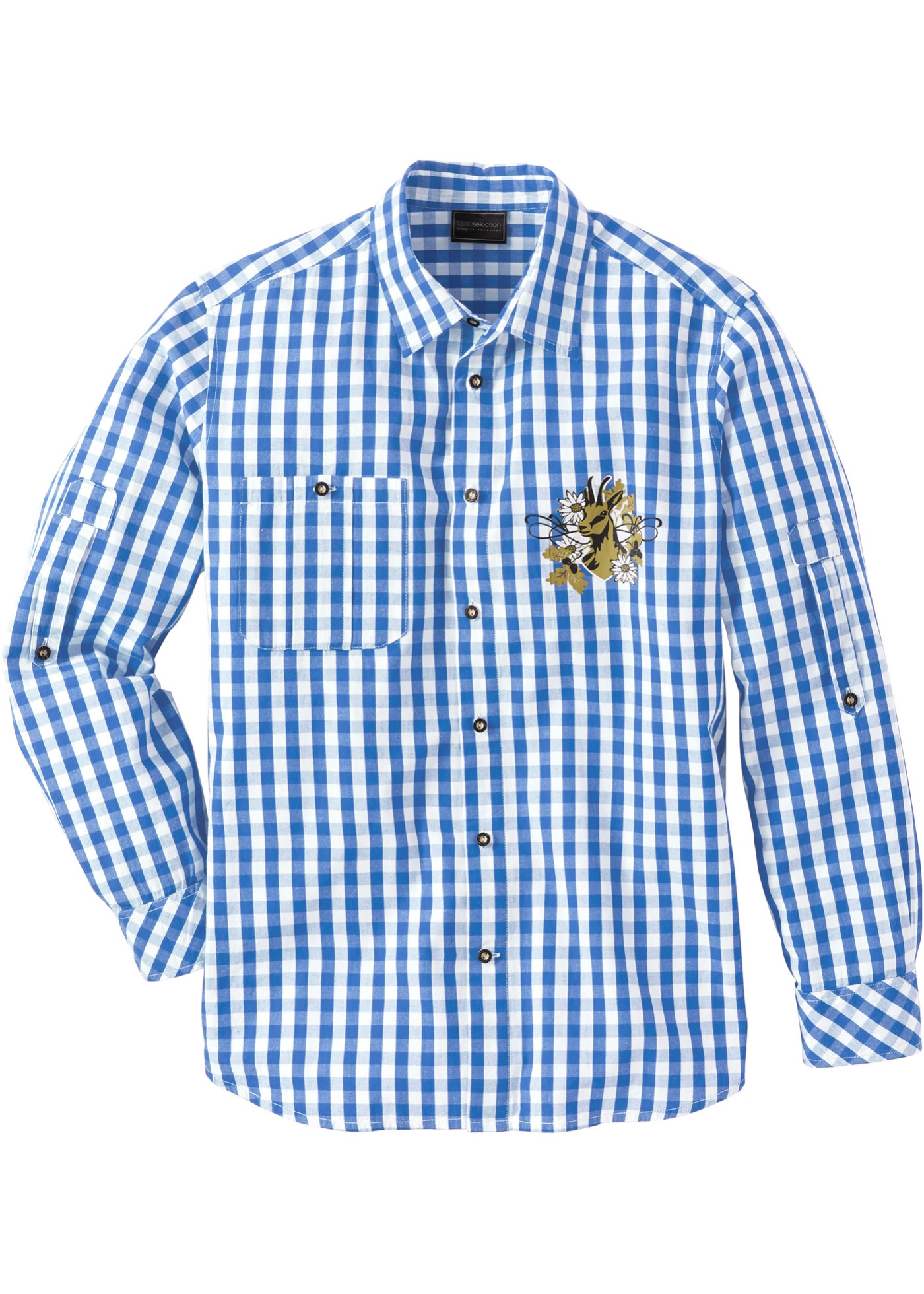 Herren bonprix Trachtenhemd im Regular Fit   06923933669479