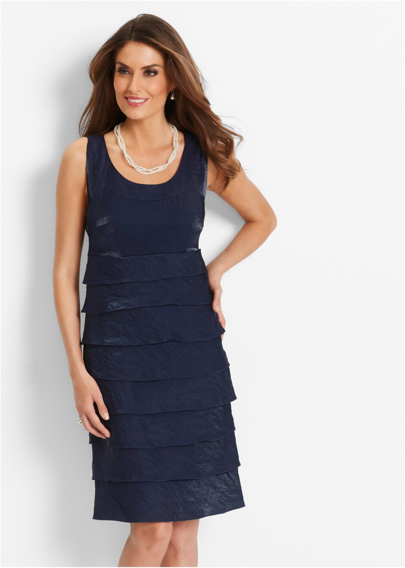 Premium Kleid, bpc selection premium, dunkelblau