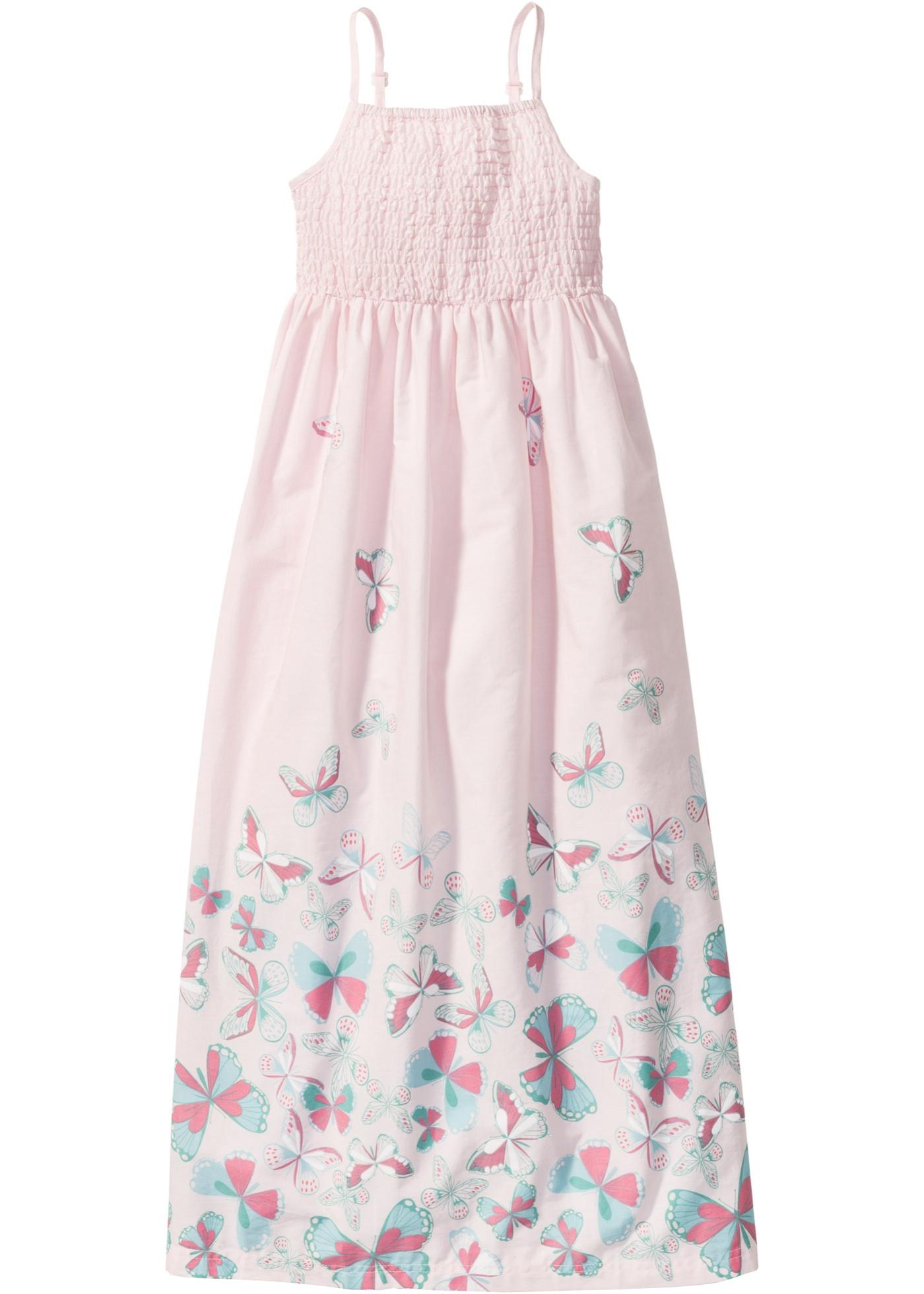 Mädchen,  Kinder bonprix Mädchen Maxikleid rosa | 08902105069581