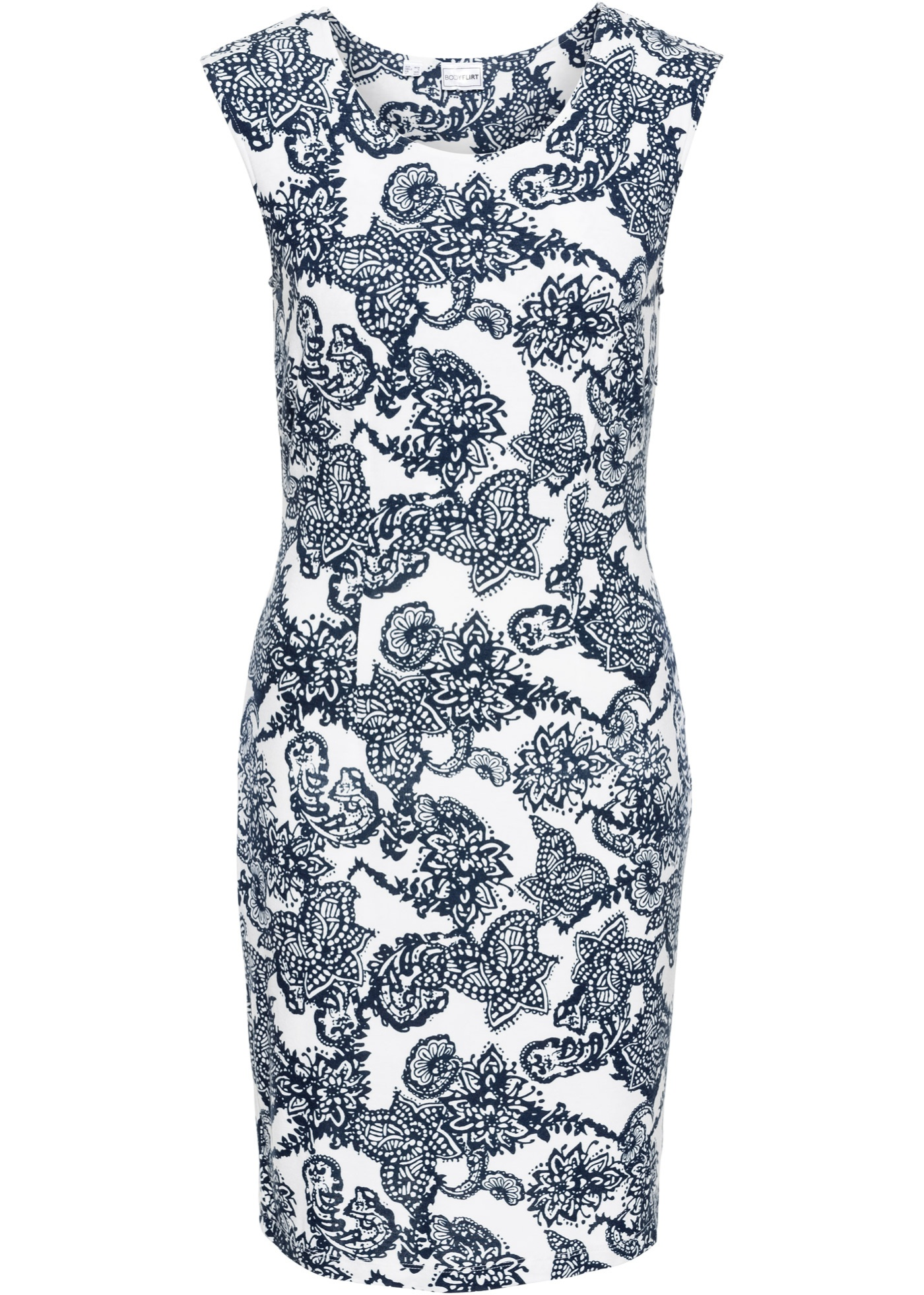 Jerseykleid mit Formeffekt