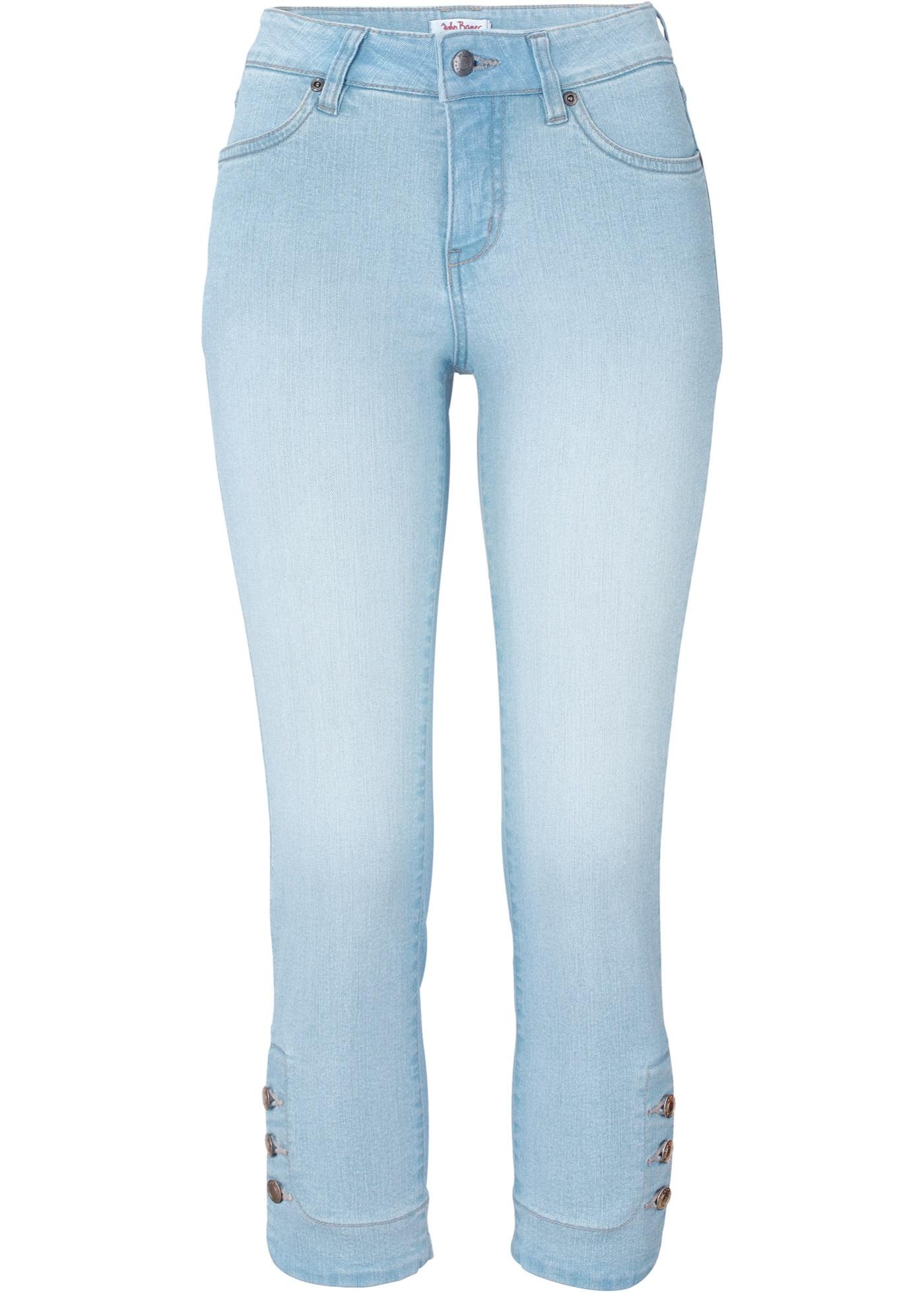 Stretch-Jeans SLIM mit Knöpfen