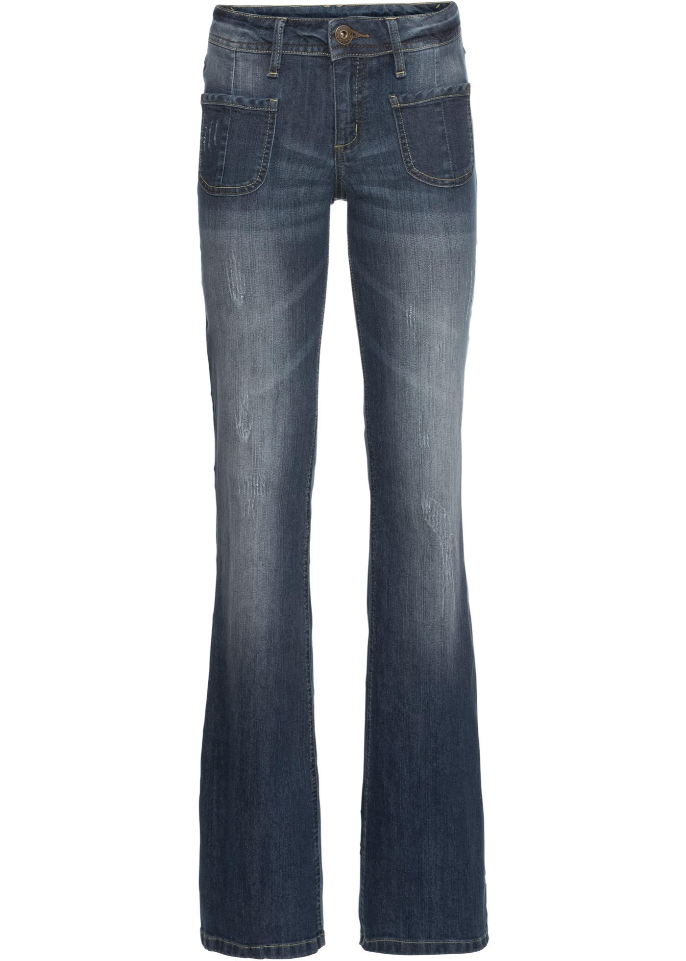 Hosen - Bootcut Jeans › bonprix › schwarz  - Onlineshop Bonprix
