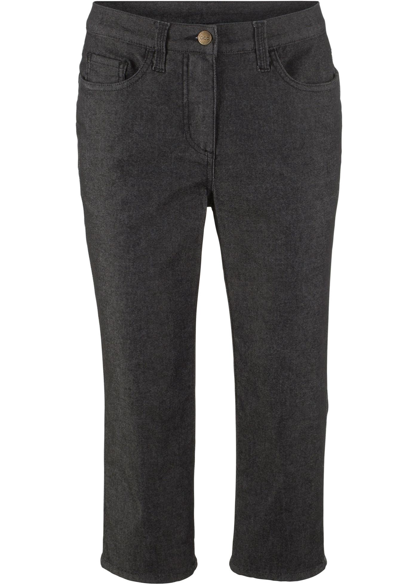 3/4-Superstretch-Hose in schwarz für Damen von bonprix