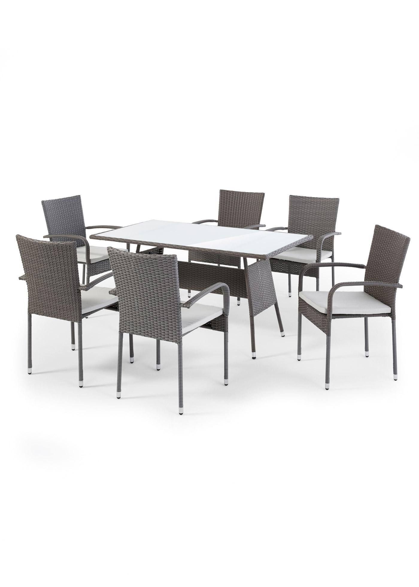 Gartenmöbel Set (7-tlg.Set)