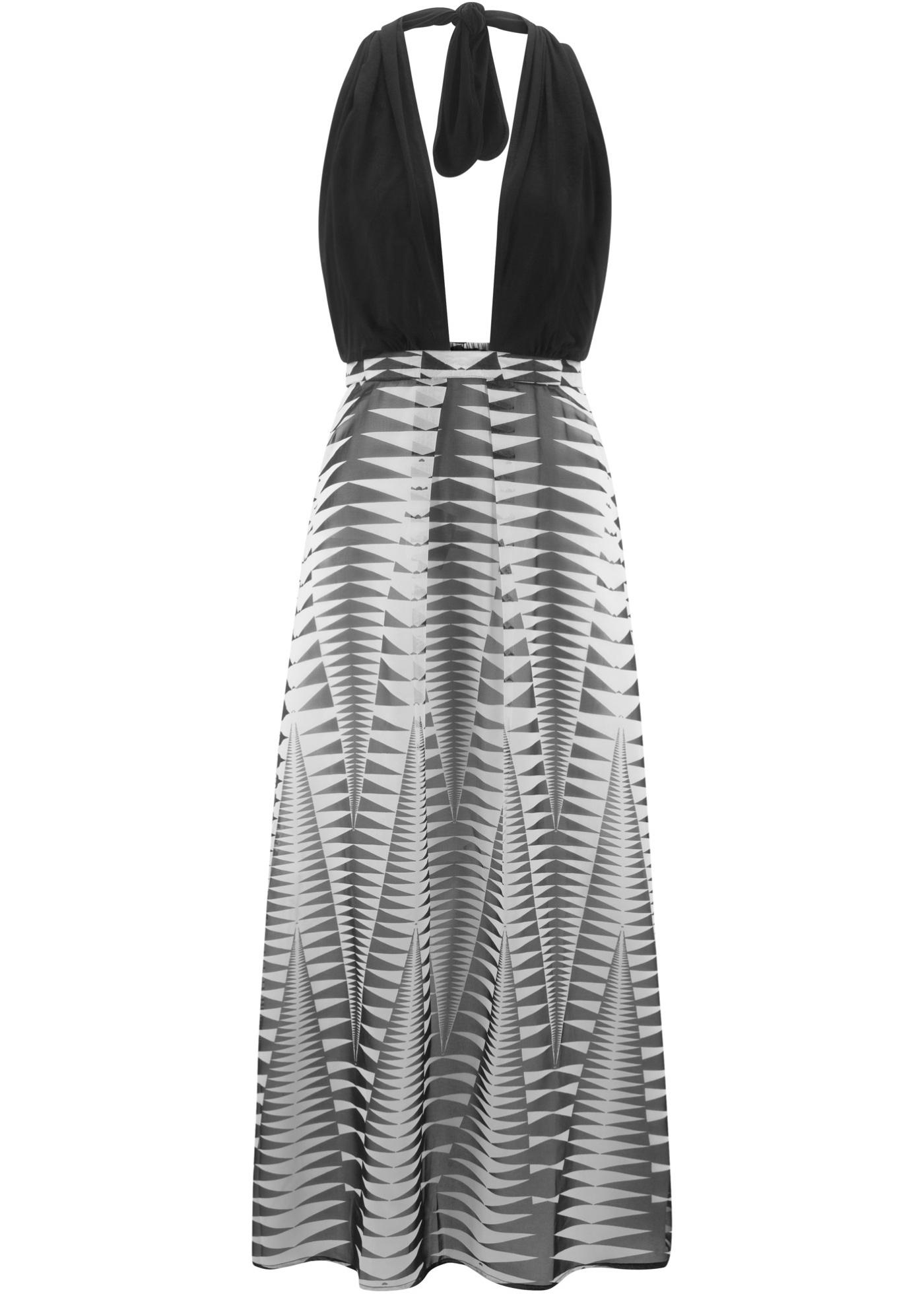Strand Neckholder-Kleid