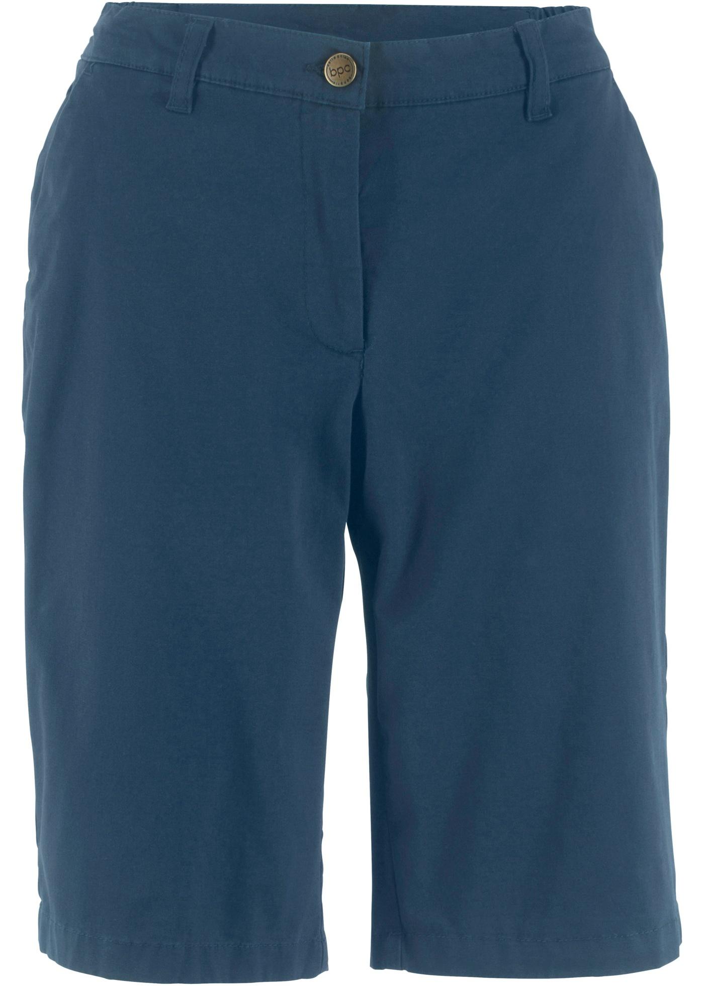 Bermuda-Short mit Komfortbund in blau für Damen von bonprix