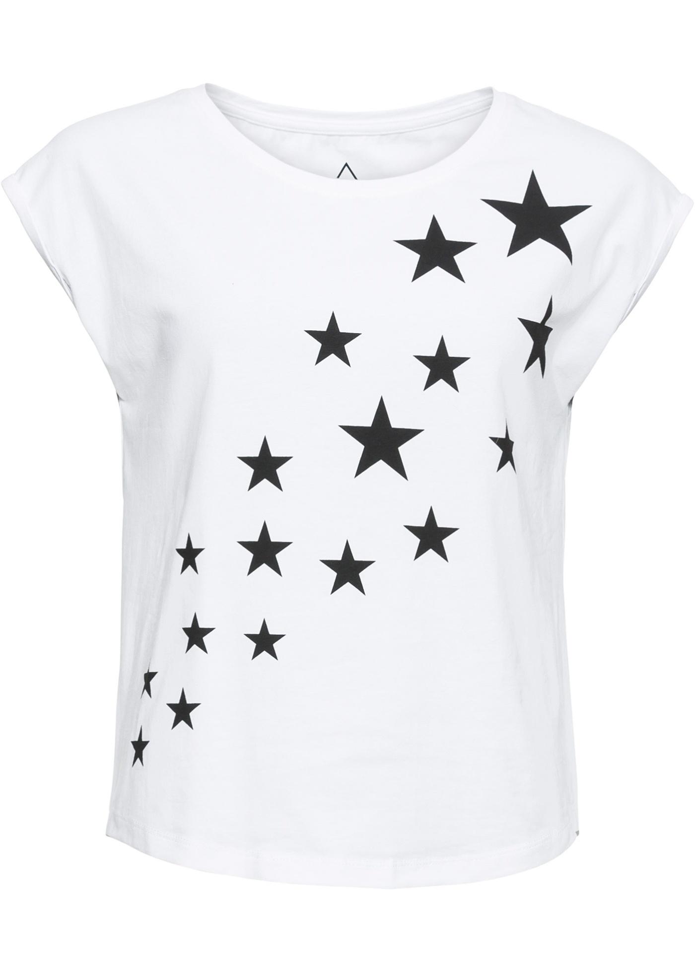 Shirt mit Sternendruck