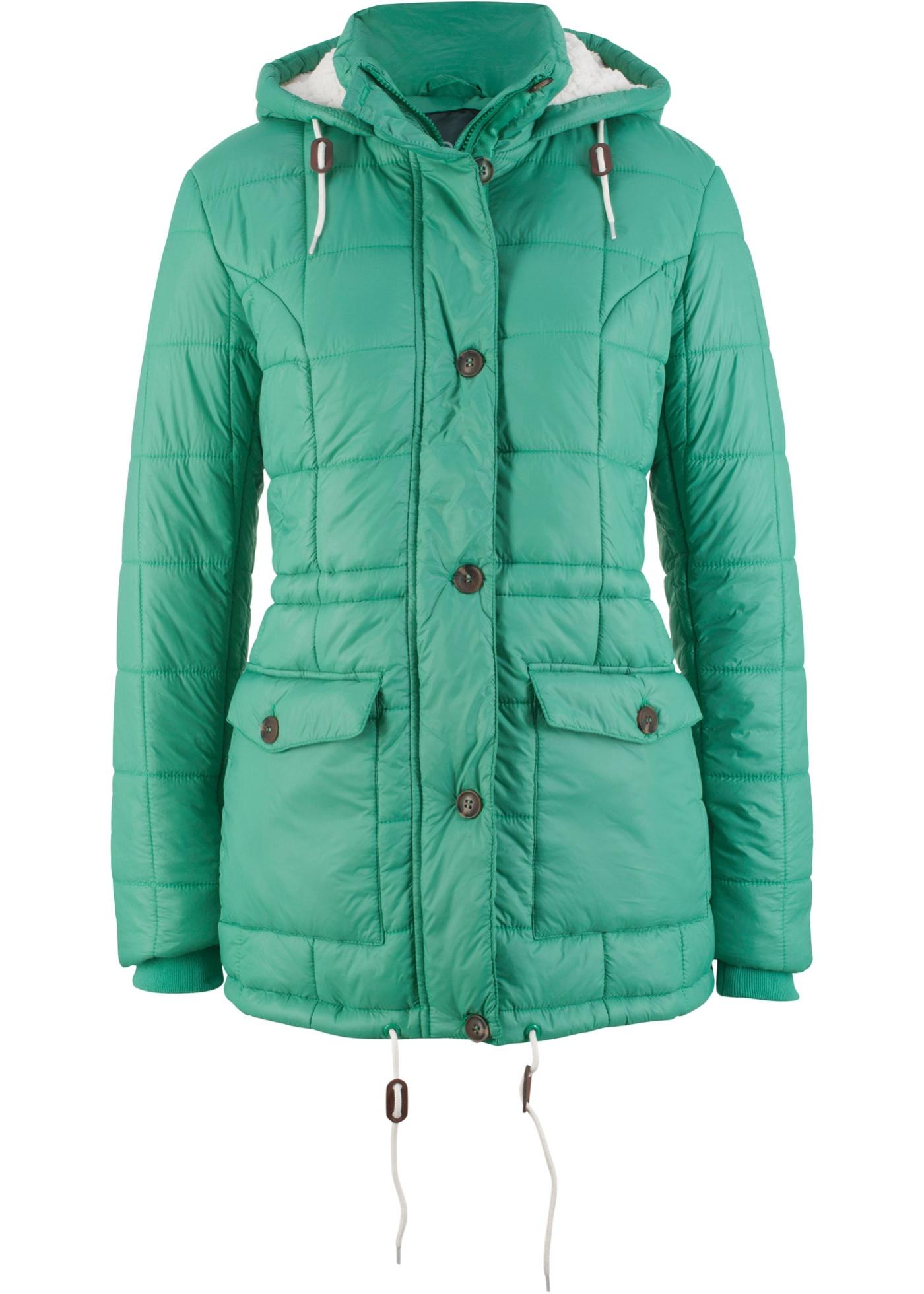 Steppelt kabát kapucnival