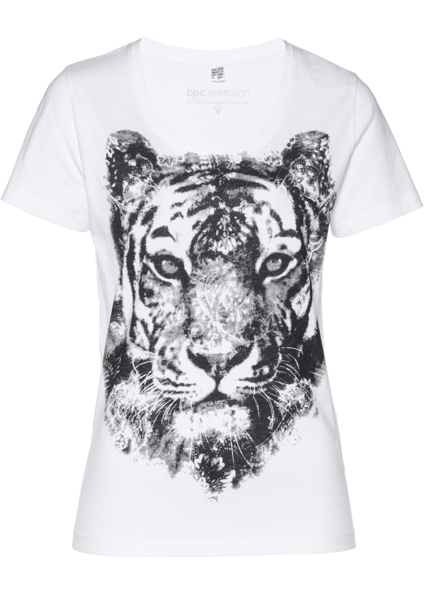 Shirt mit Tigerdruck