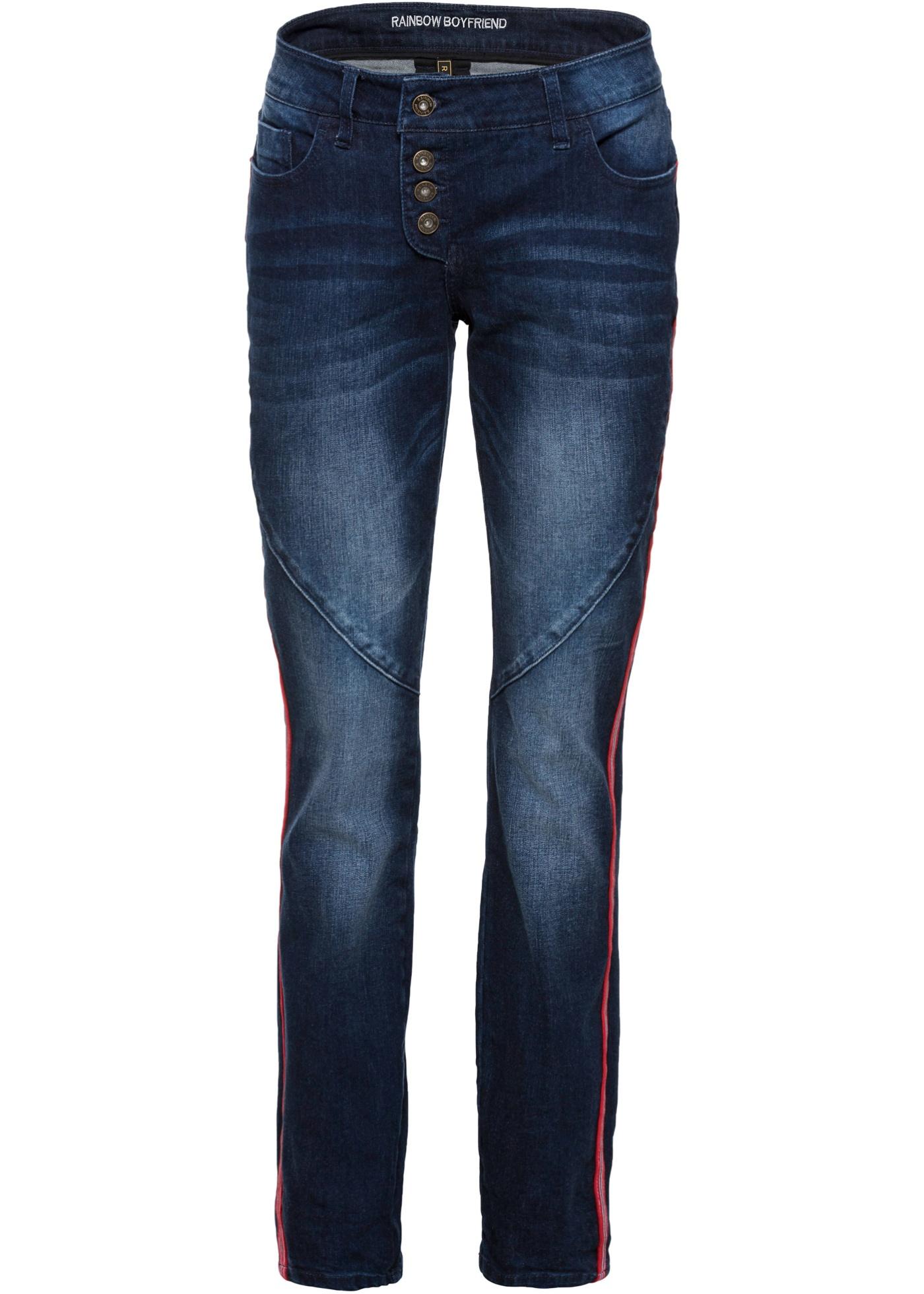 Hosen - Boyfriend Jeans › bonprix › schwarz  - Onlineshop Bonprix