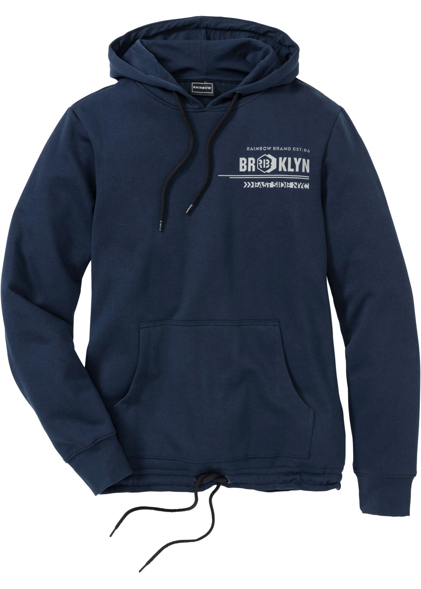 Bonprix Herren Winter-Sweatshirt mit Kapuze Slim Fit | 06951710182231