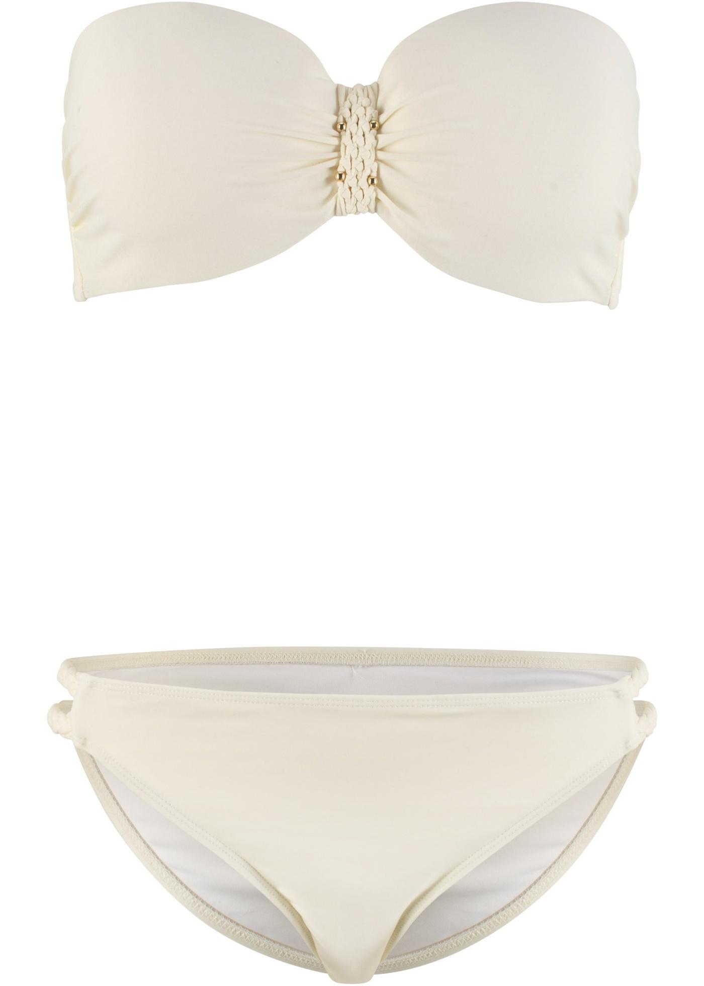 Bademode - Balconette Bügel Bikini (2 tlg. Set) › bonprix › beige  - Onlineshop Bonprix