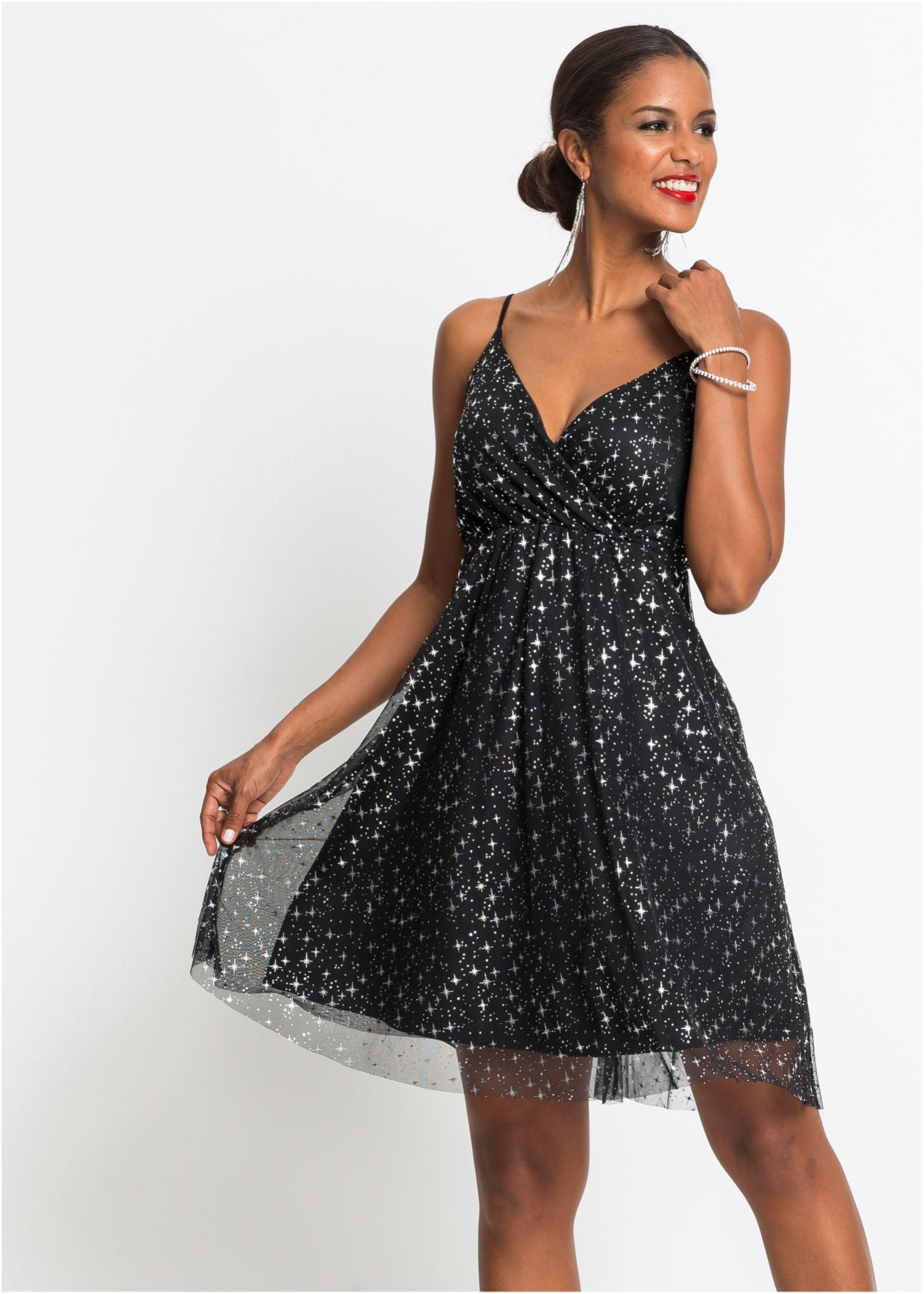Kleid mit Metallic-Print, BODYFLIRT boutique