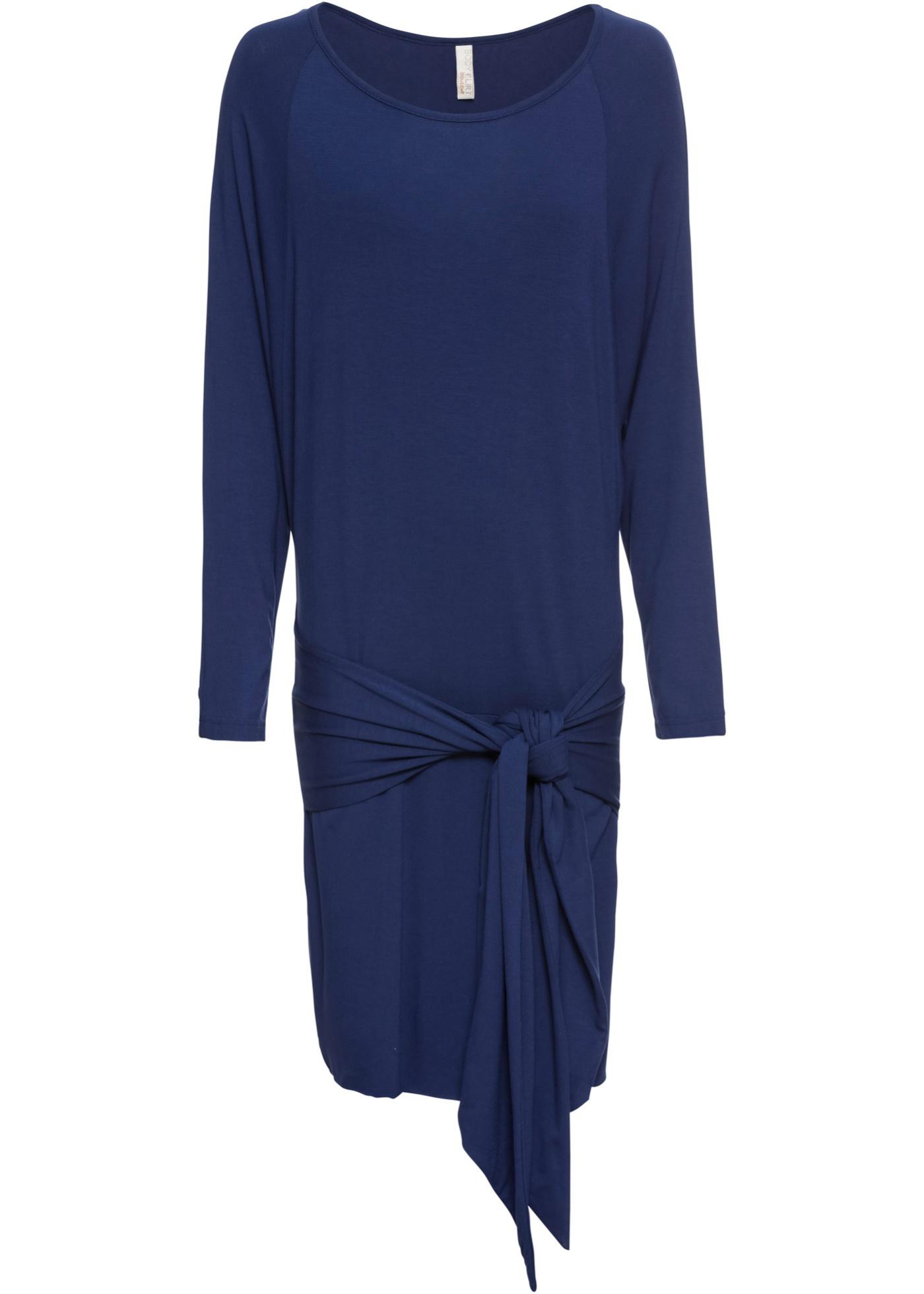 Jerseykleid mit Bindedetail