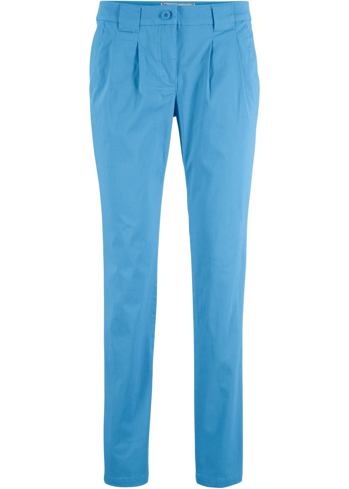 Hosen - Stretch Chinohose › bonprix › blau  - Onlineshop Bonprix