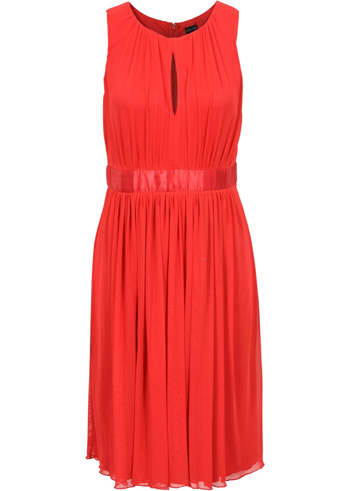 Festtagsmode - Kleid › bonprix › rot  - Onlineshop Bonprix