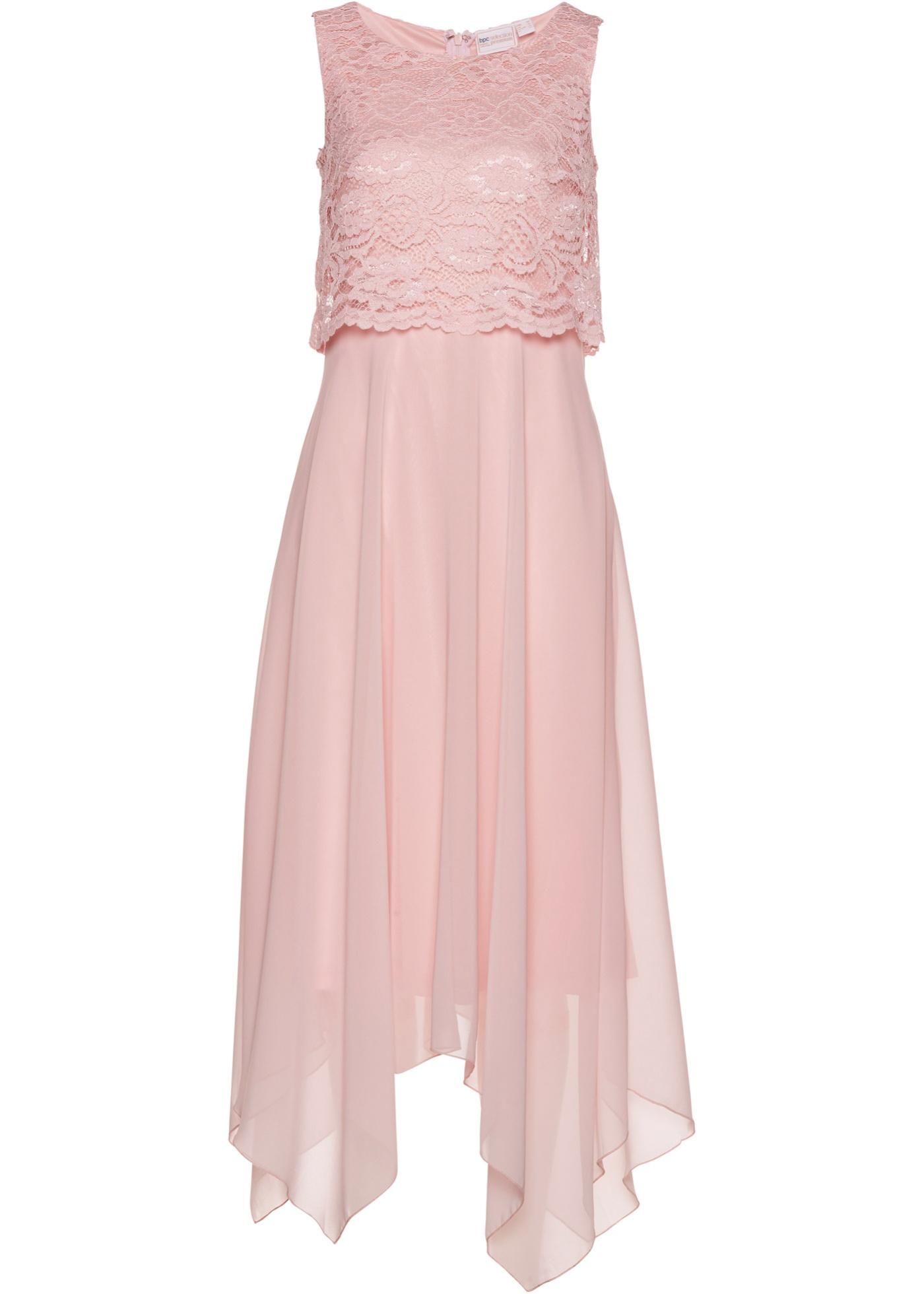 Festtagsmode - Premium Kleid › bonprix › rosa  - Onlineshop Bonprix