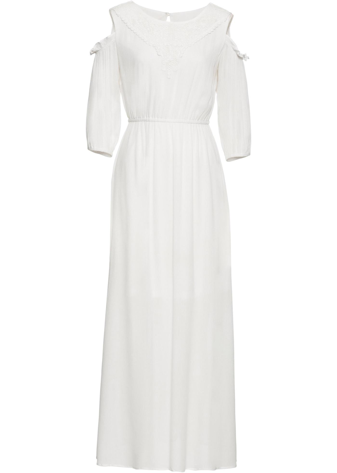 Off-Shoulder-Kleid mit Spitze
