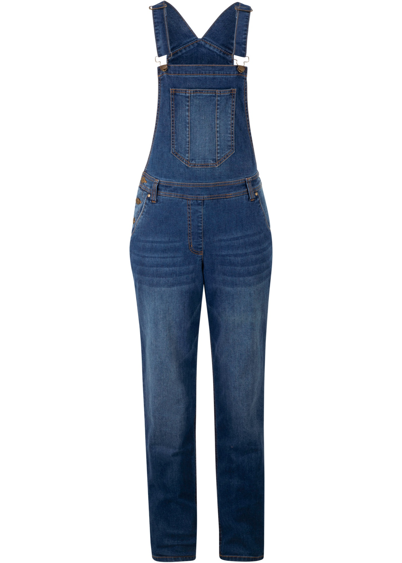 Hosen - Jeans Latzhose mit extra Weite › bonprix › blau  - Onlineshop Bonprix
