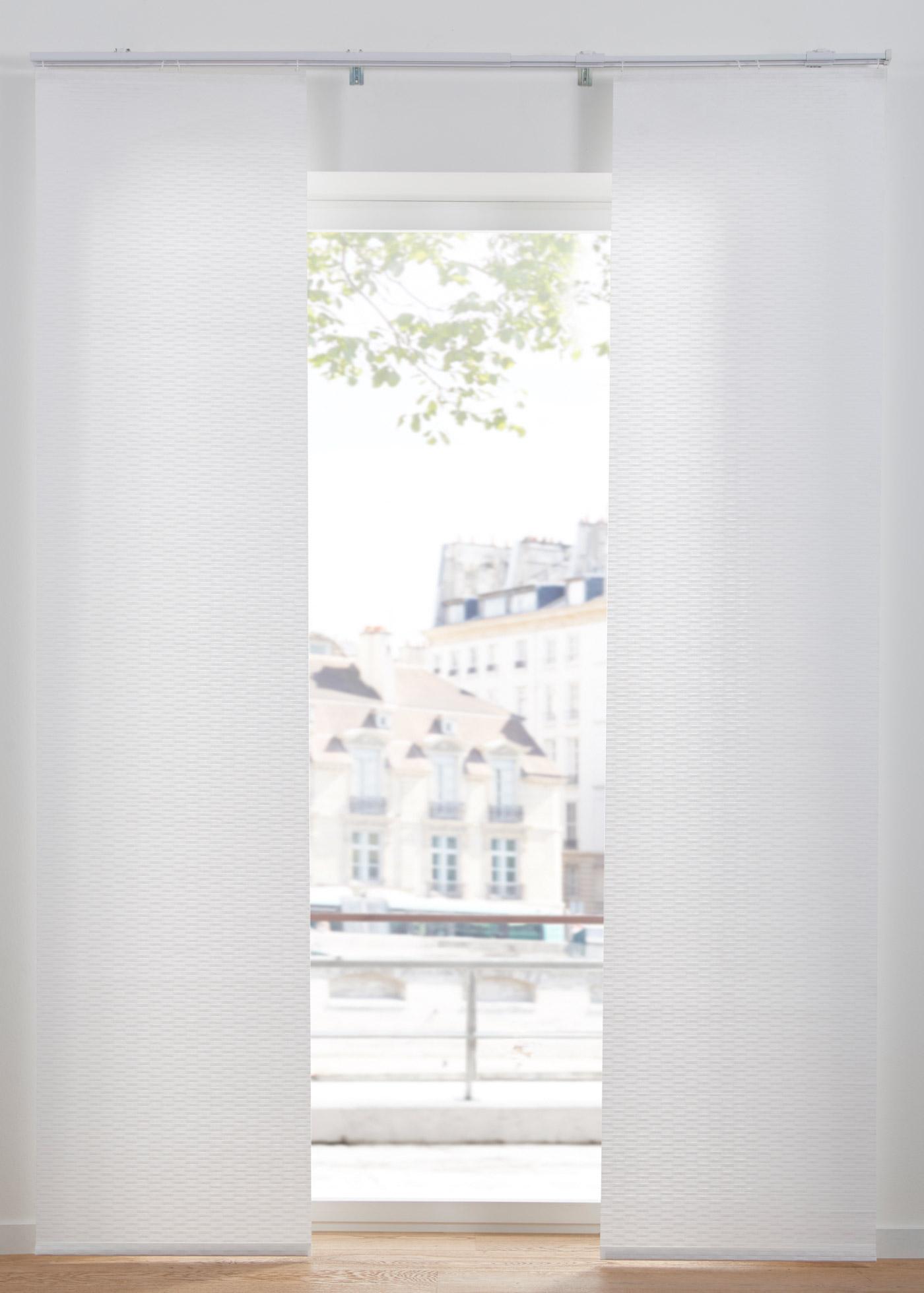 Schiebegardine (1er Pack) in weiß von bonprix