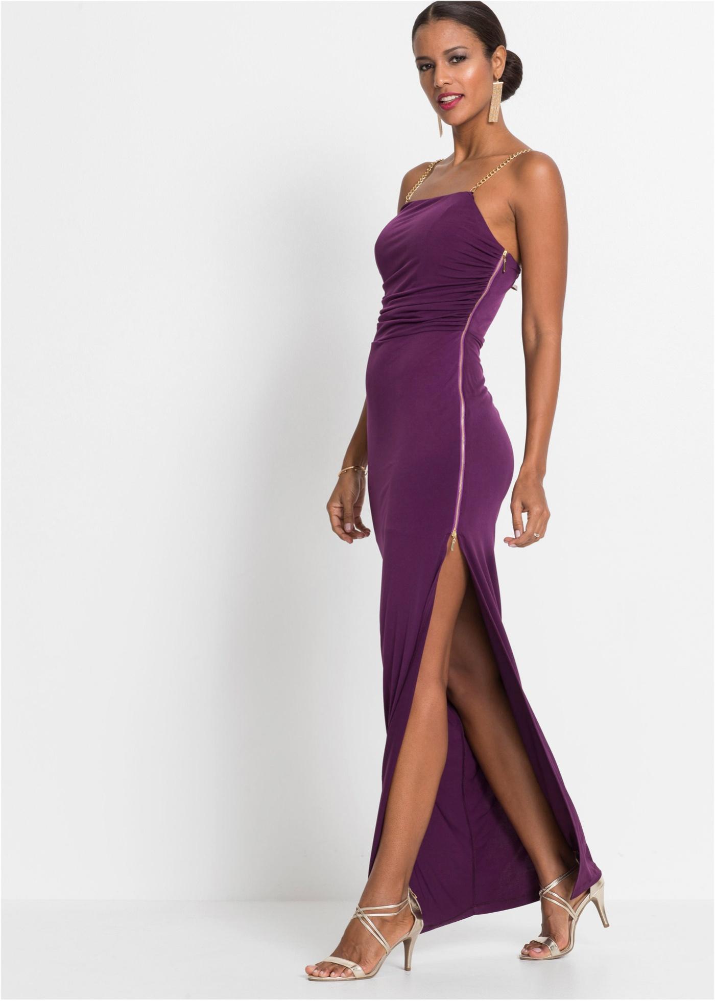 Abendkleid mit dekorativem Reißverschluss, BODYFLIRT boutique